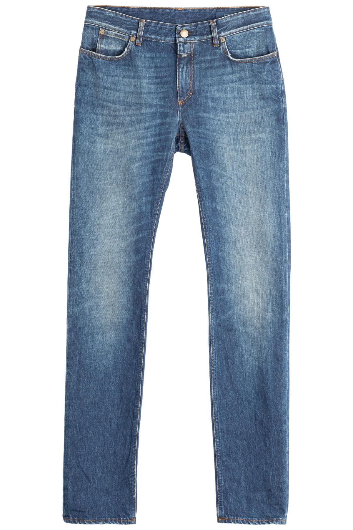 closed stonewashed skinny jeans in blue for men lyst. Black Bedroom Furniture Sets. Home Design Ideas