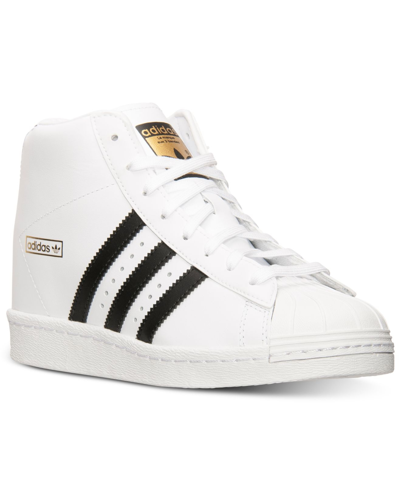 3c7392a49f51 ... canada lyst adidas womens superstar up casual sneakers from finish line  17f8a b409a