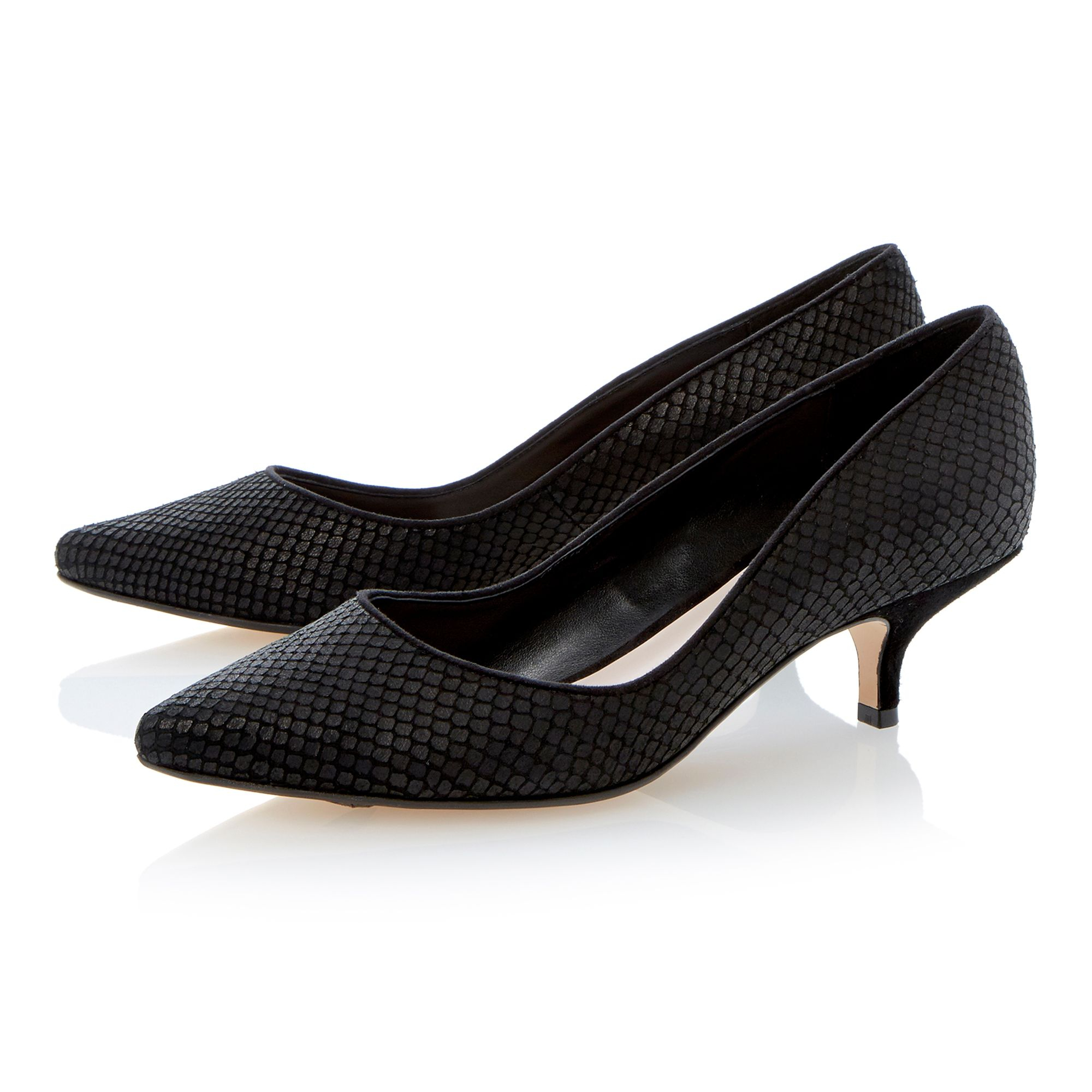 Dune Kitten Heel Shoes