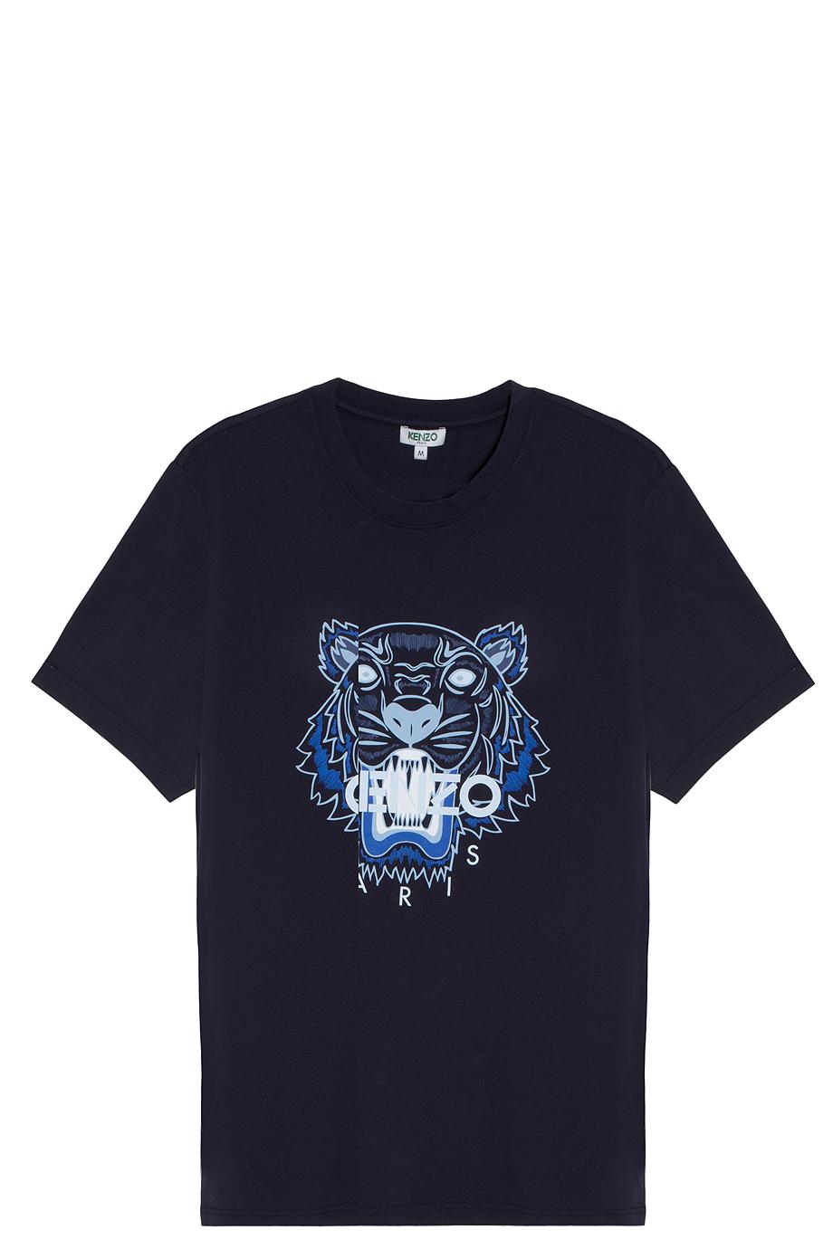 Men Kenzo Blue T Iconic Shirt For Tiger thQrxBdsC