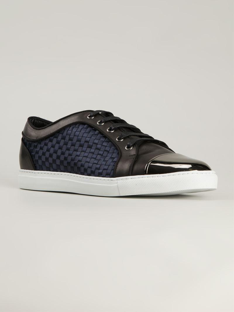 Louis Leeman Toe-Cap Leather Sneakers