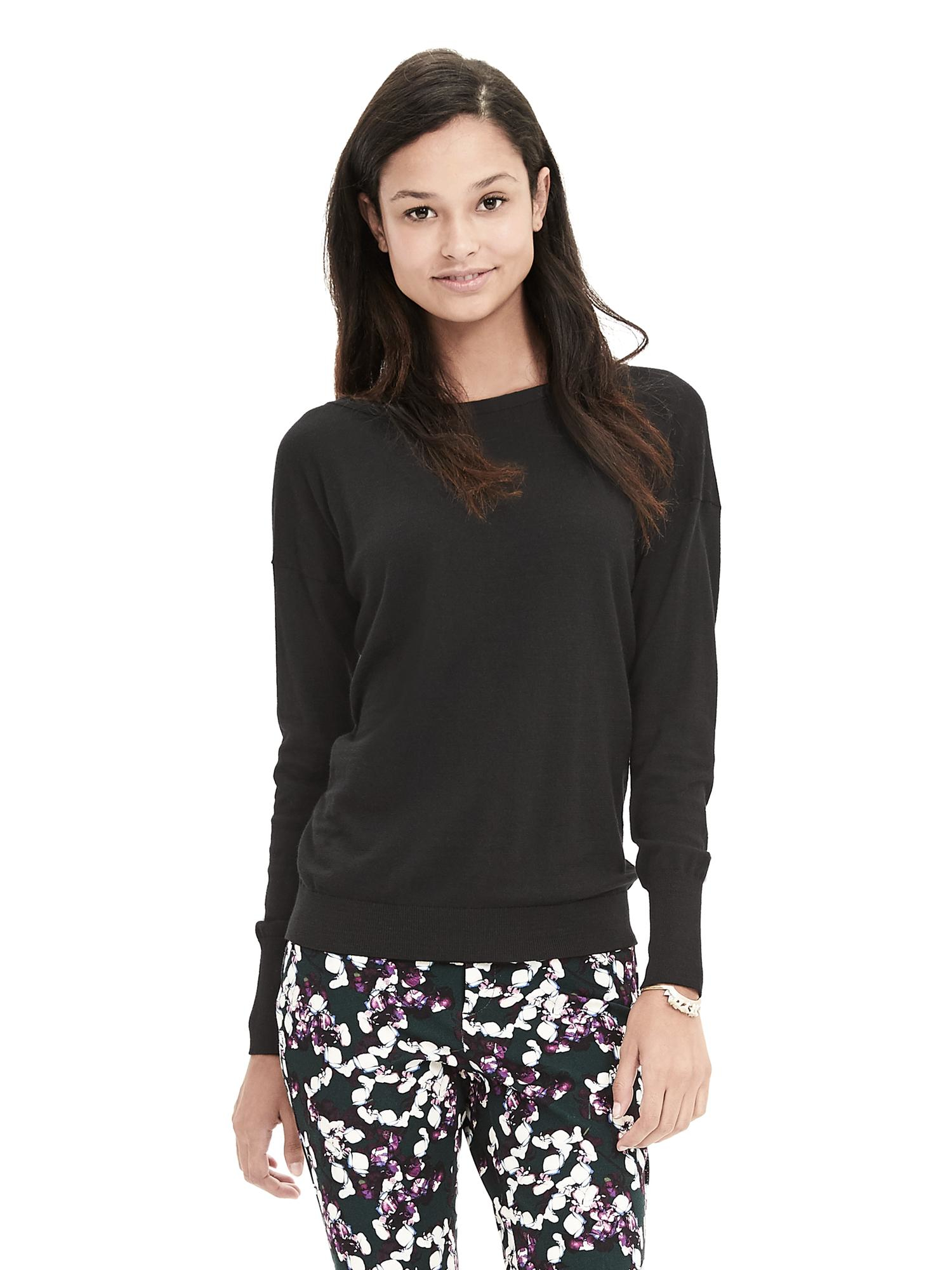 Free shipping and guaranteed authenticity on Republic Clothing Black Sweater.