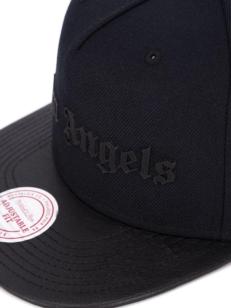 8806bf56af7 Lyst - Palm Angels Logo Baseball Cap in Black for Men