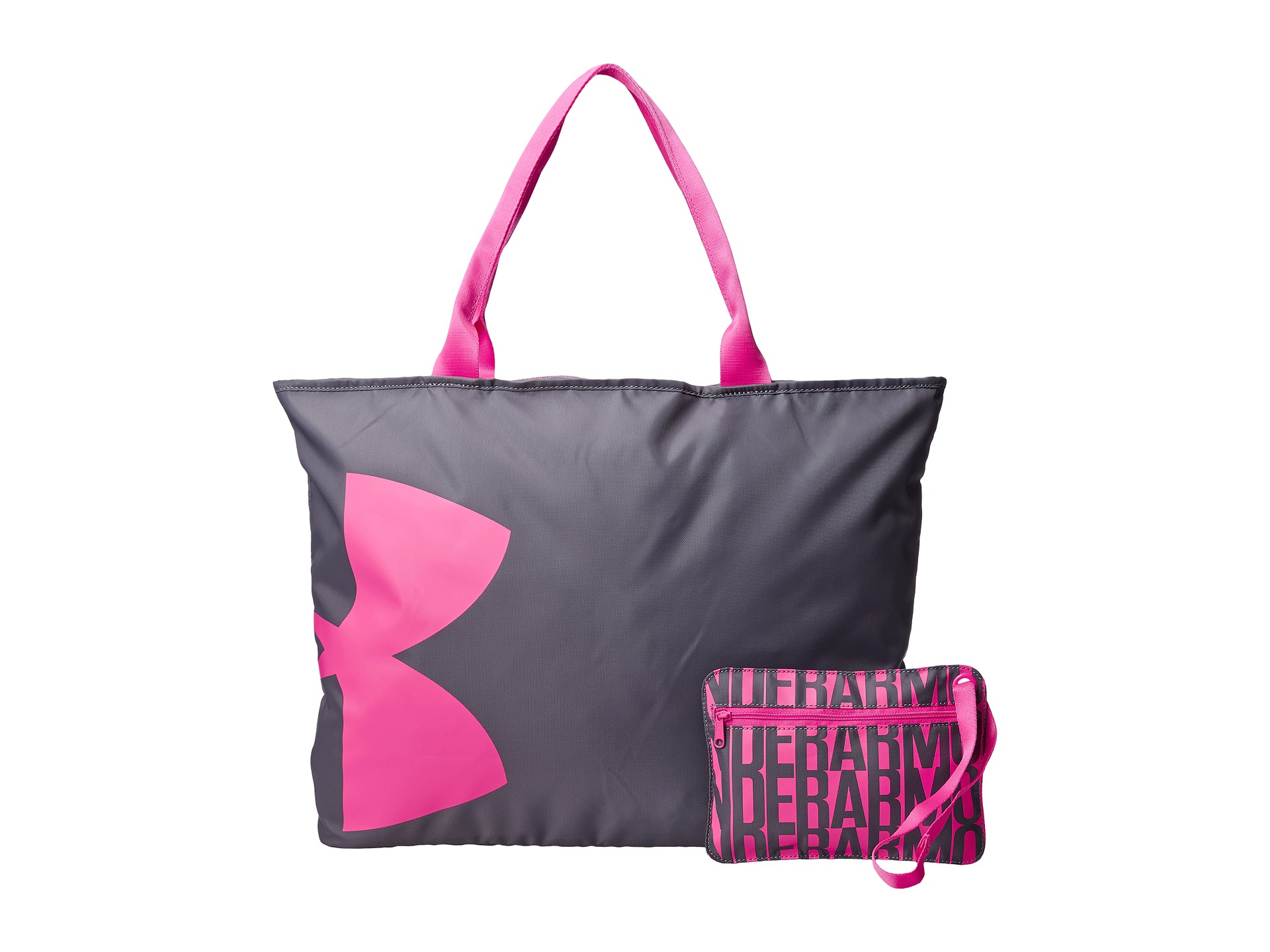 Under Armour Ua Big Logo Tote In Gray