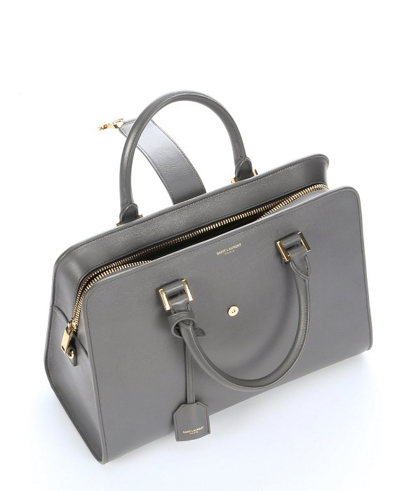 Pre-owned - Grey Leather Handbag Saint Laurent Outlet Online Outlet The Cheapest For Cheap Cheap Online VpSb7cp