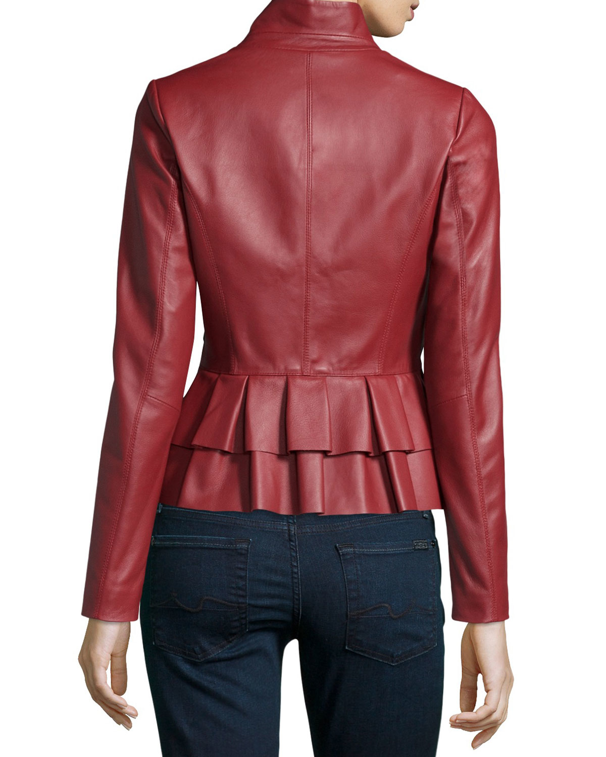 Find peplum leather jacket at ShopStyle. Shop the latest collection of peplum leather jacket from the most popular stores - all in one place.