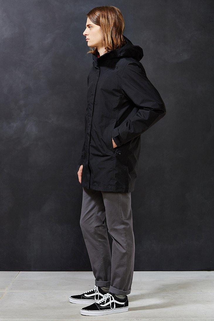 270927dcd The North Face Black El Misti Hooded Long Parka Jacket for men