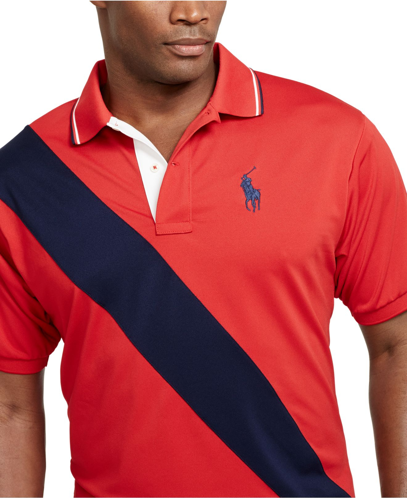 Lyst Polo Ralph Lauren Big And Tall Banner Striped