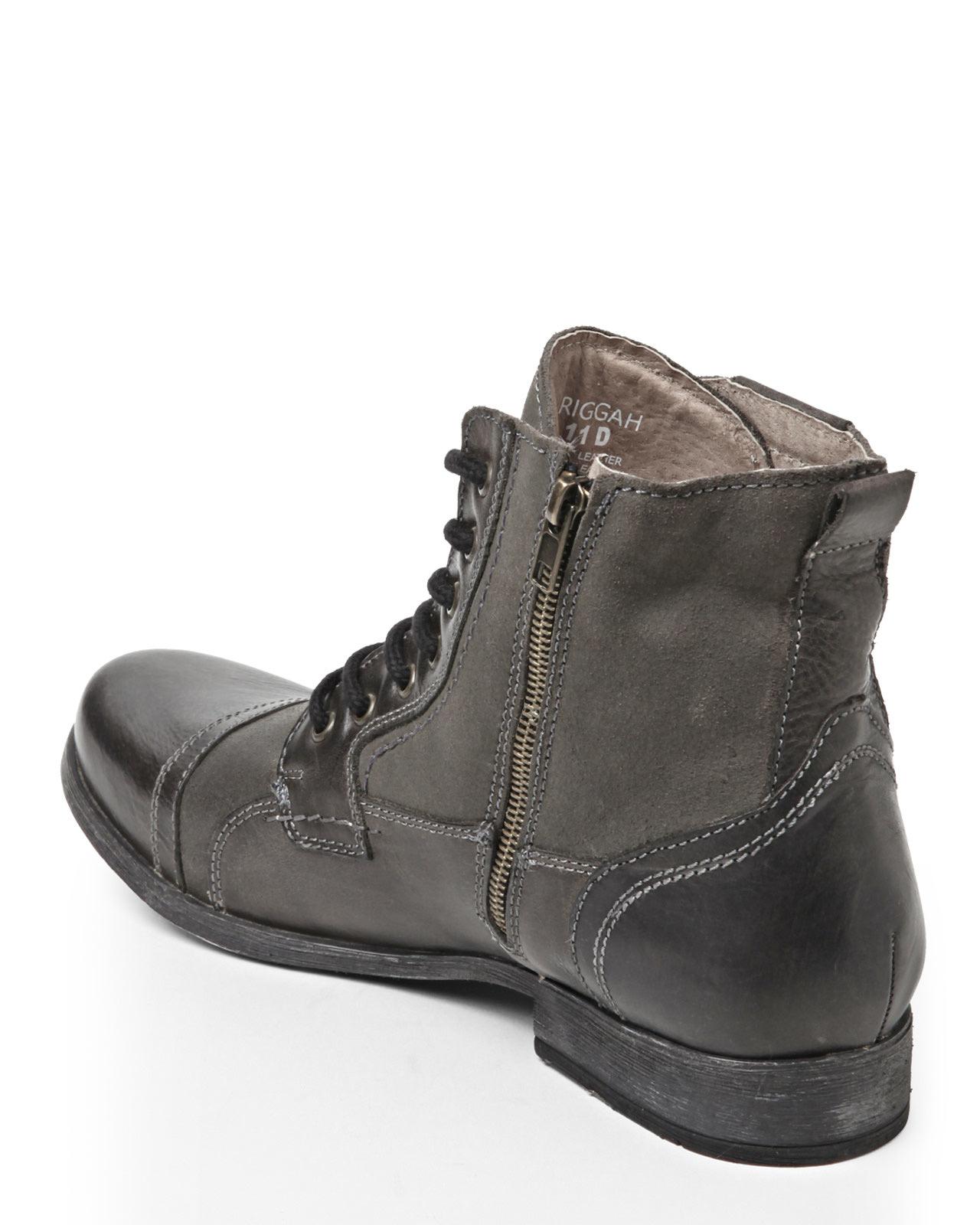 bc4e4f45e25 Steve Madden Black Triggah Boots for men