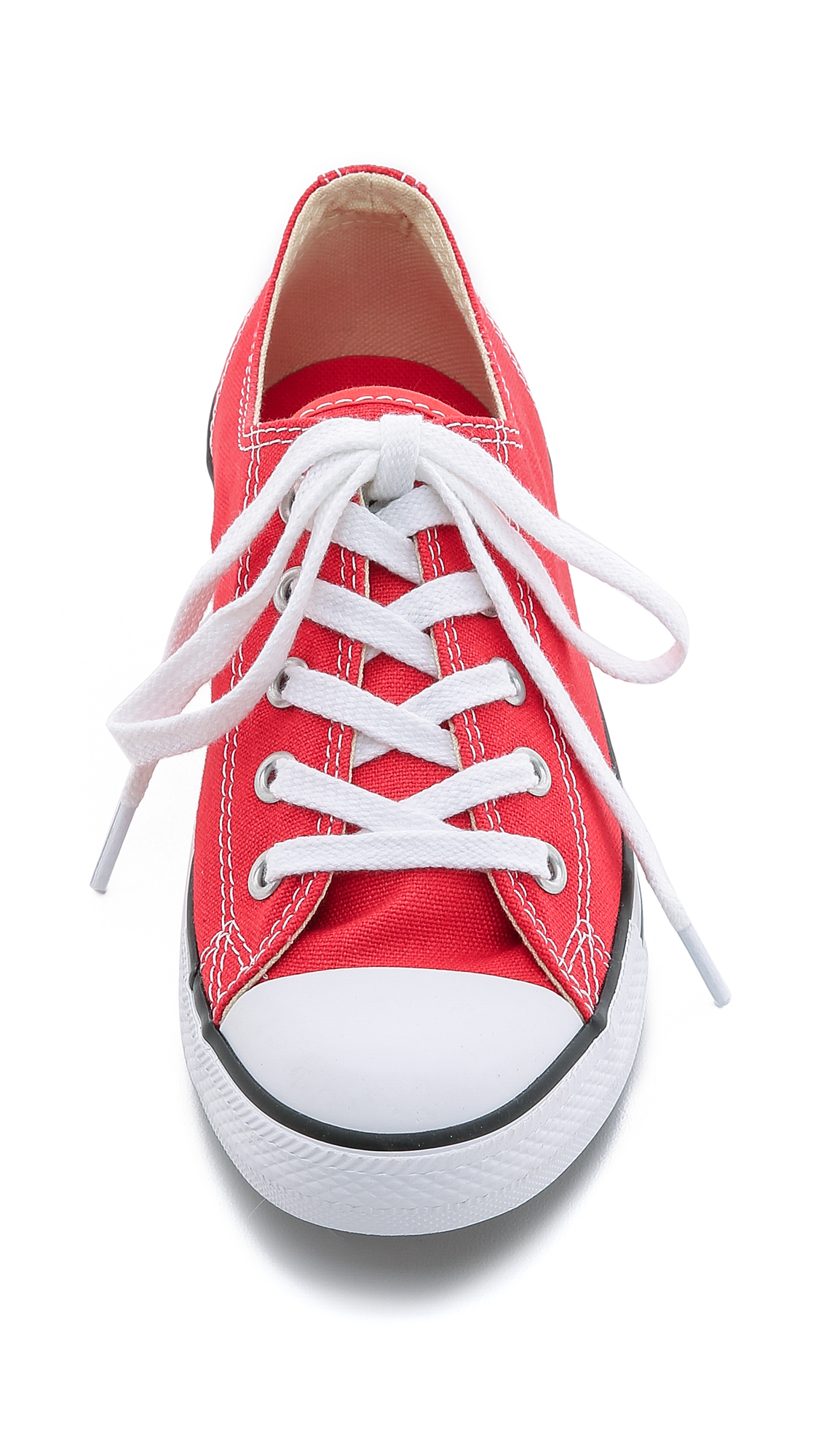 Converse Chuck Taylor All Star Dainty Sneakers - Carnival in Red