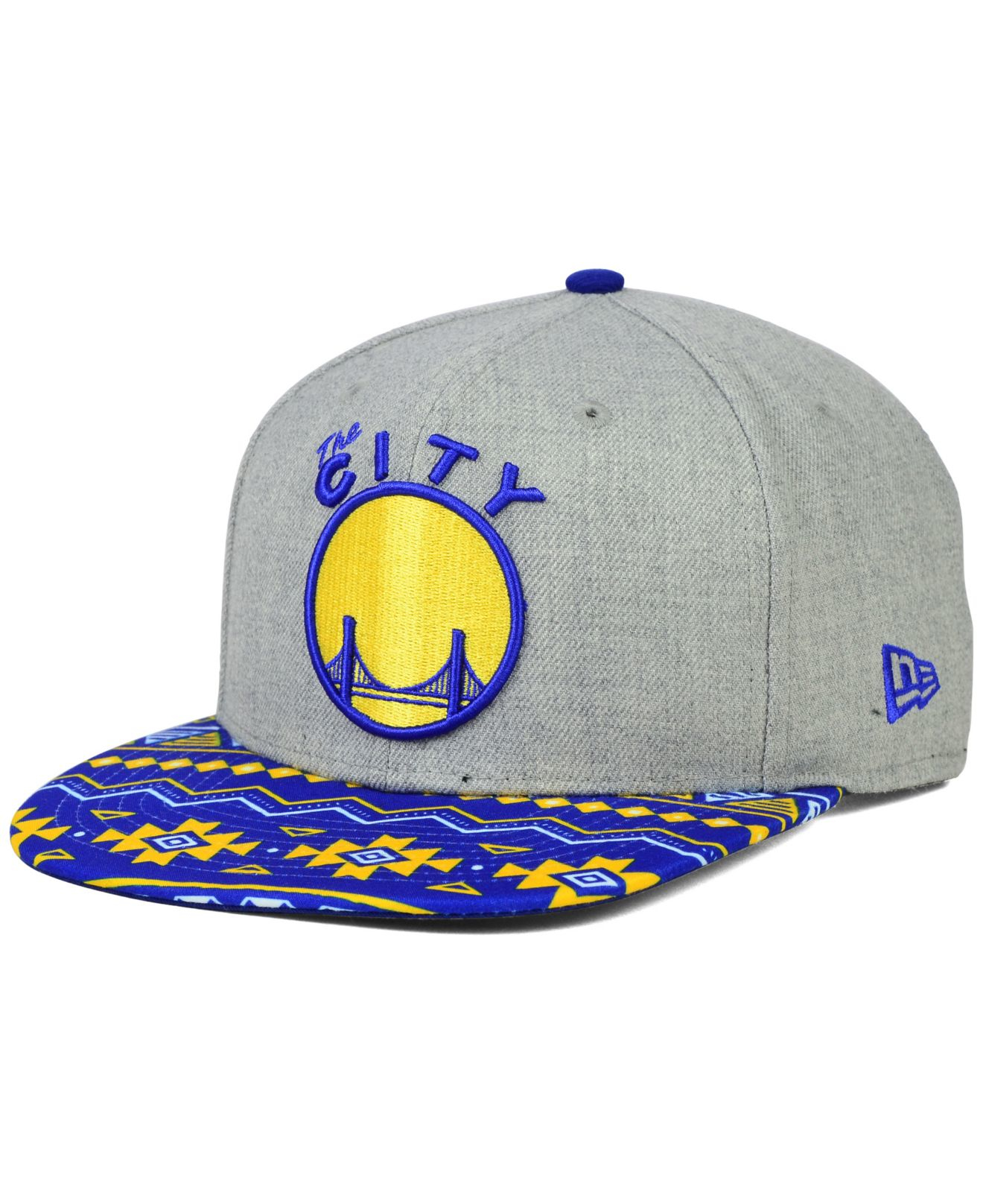 competitive price 49353 f44c6 spain lyst ktz golden state warriors neon mashup 9fifty snapback cap in  f39ca ca6dc