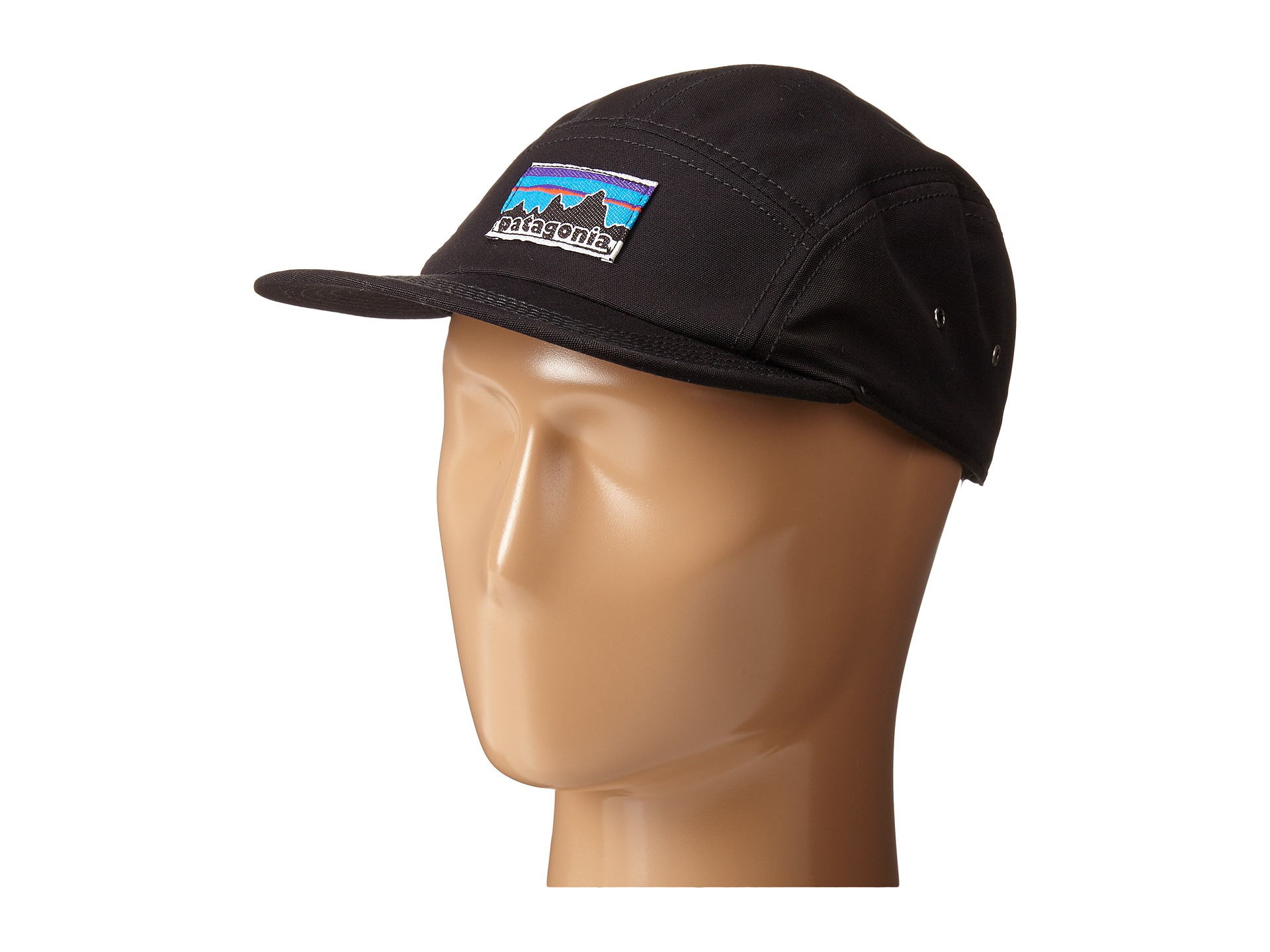 Lyst - Patagonia Retro Fitz Roy Label Tradesmith Cap in Black 587386260705