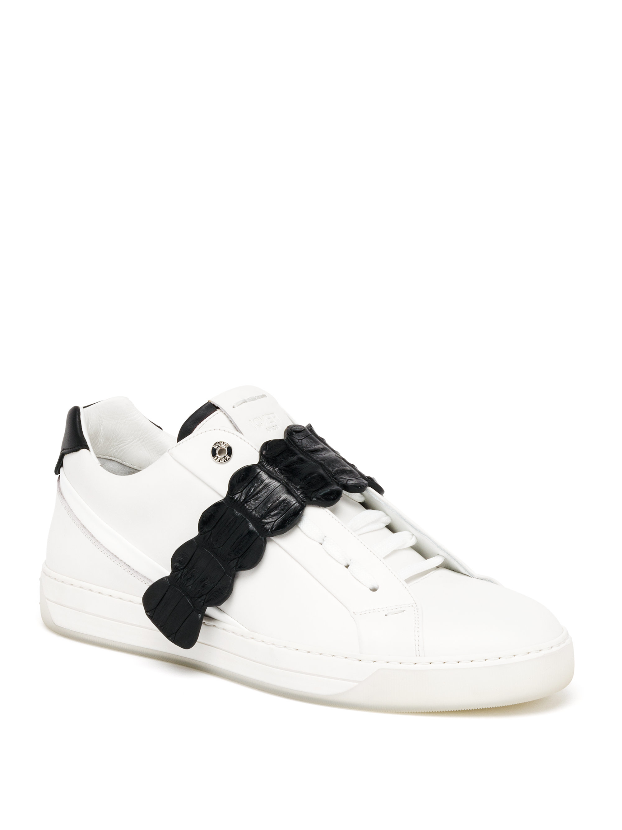 Fendi Crocodile-strap Low-rise Leather