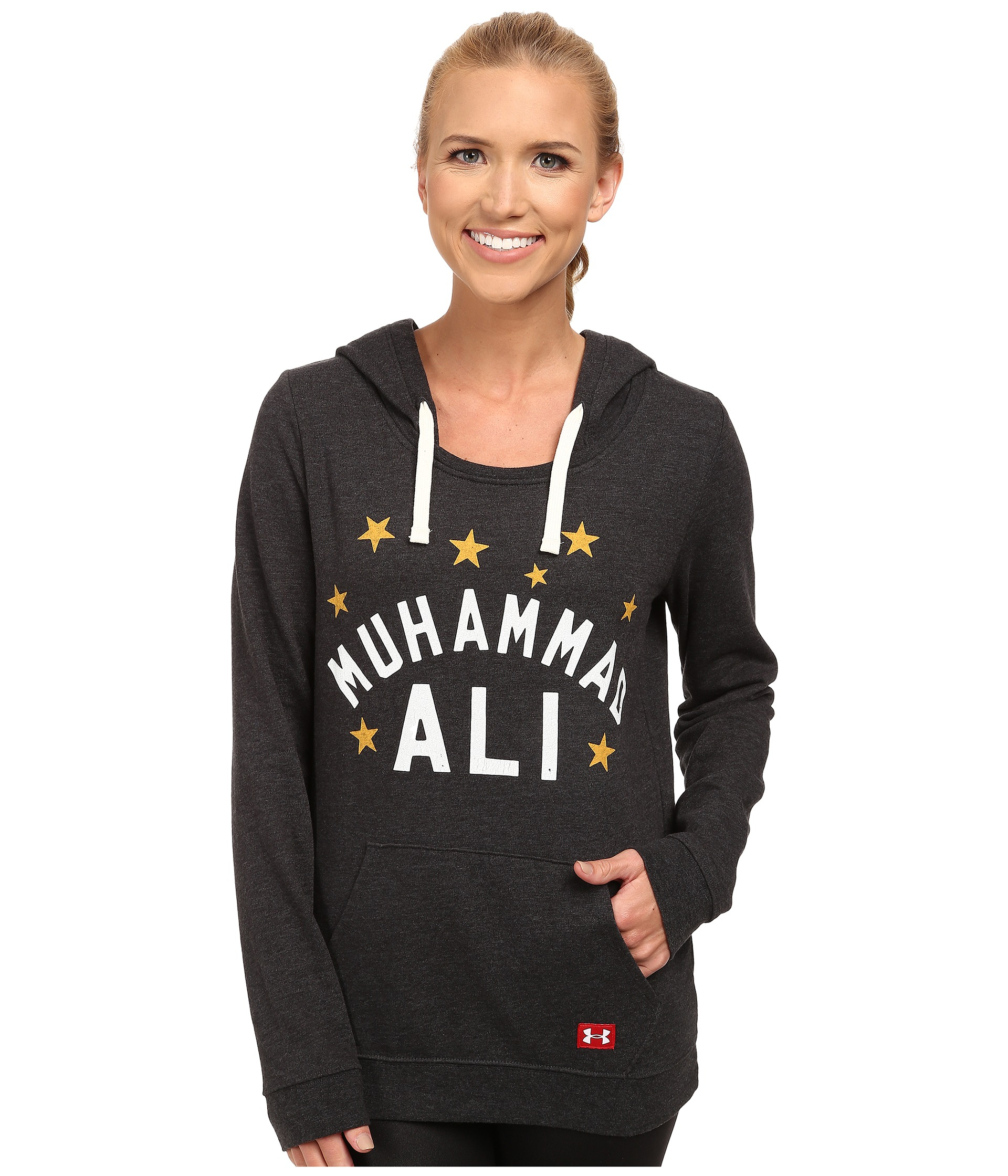 under armour ua roots of fight muhammad ali fleece hoodie. Black Bedroom Furniture Sets. Home Design Ideas