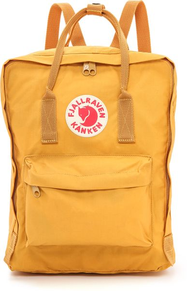 Fjallraven Kanken Backpack Ochre In Yellow Ochre Lyst