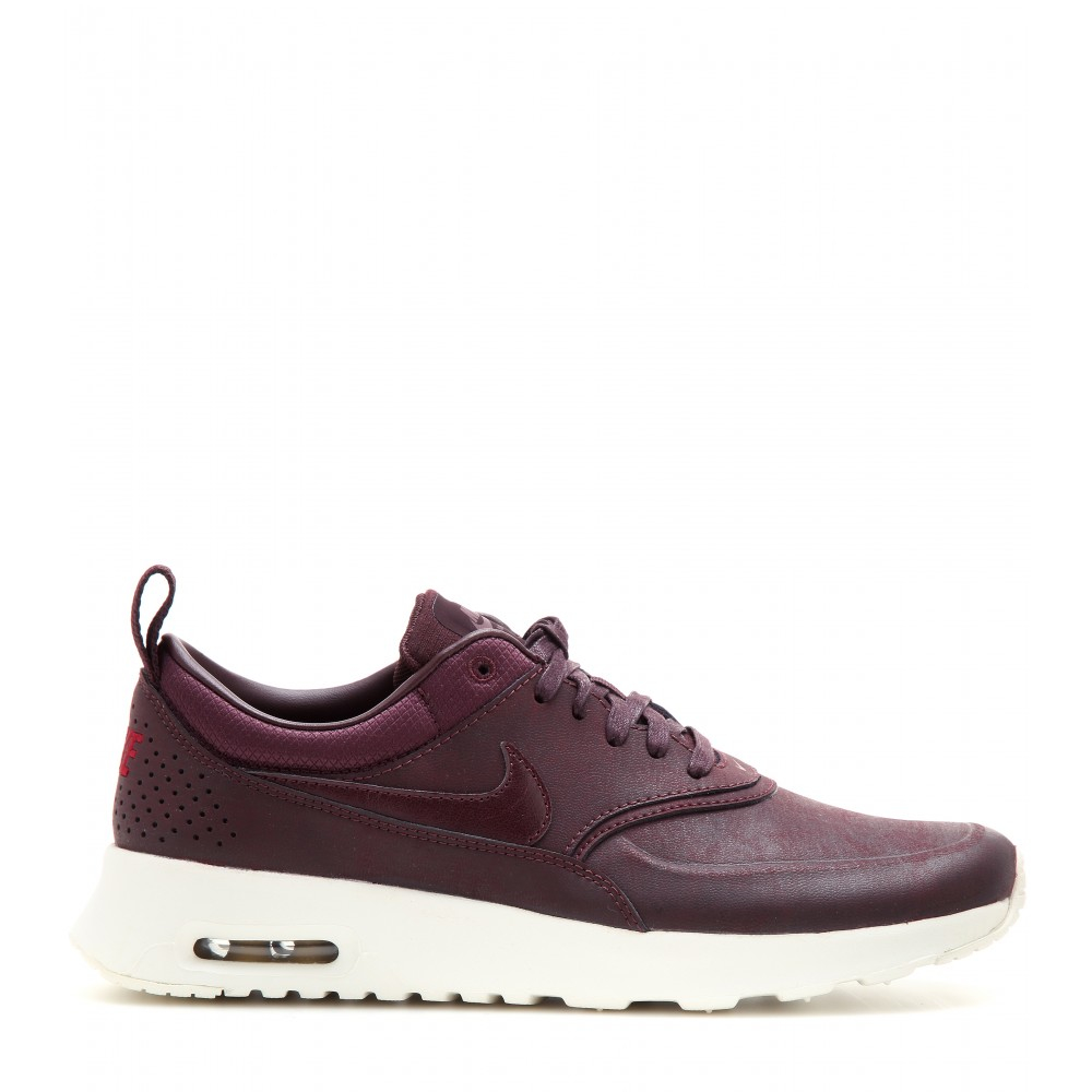 nike air max thea premium sneakers in purple lyst. Black Bedroom Furniture Sets. Home Design Ideas