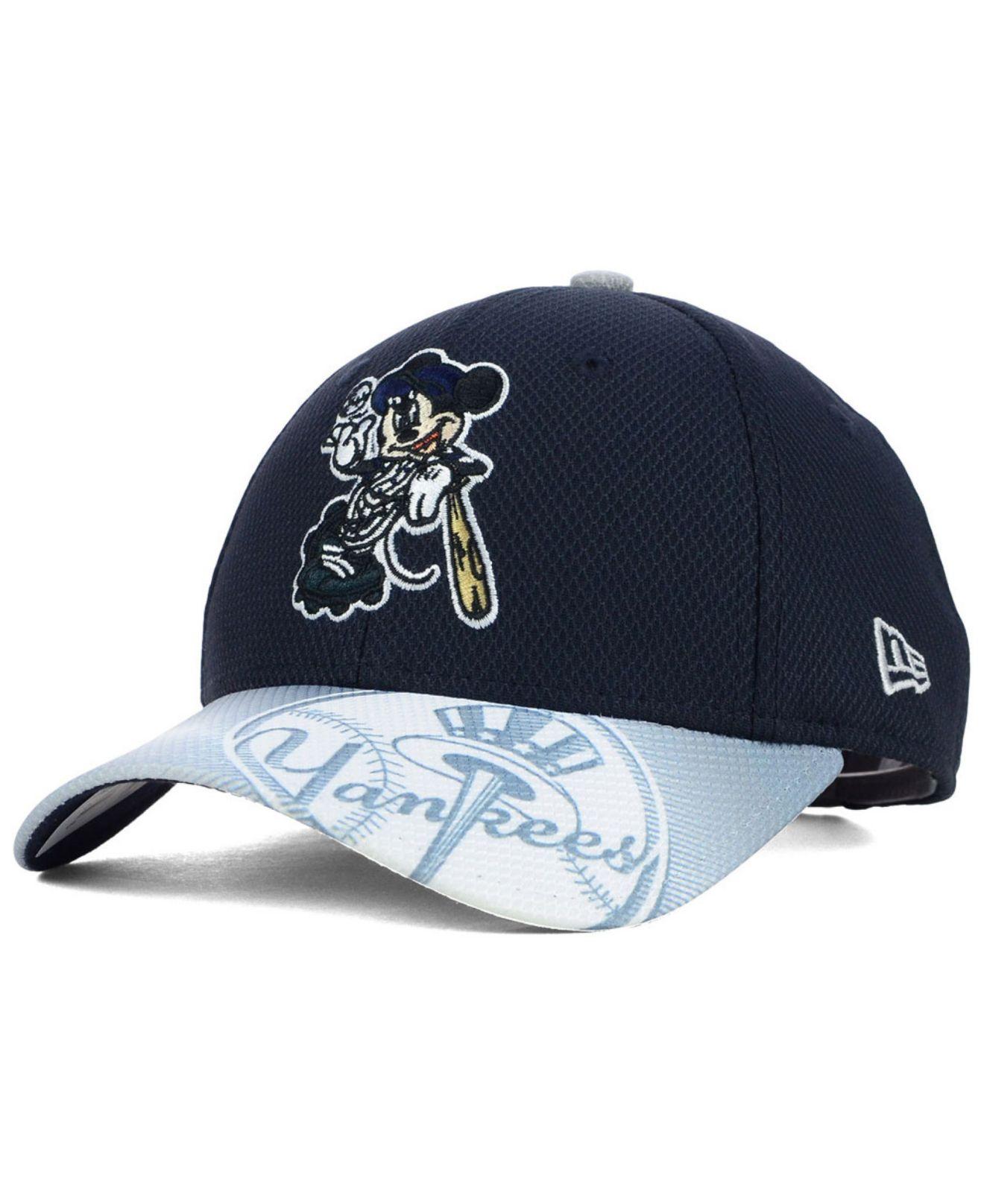 f6e5b64cb68 ... lyst ktz kids new york yankees visor smash 9forty cap in blue for men
