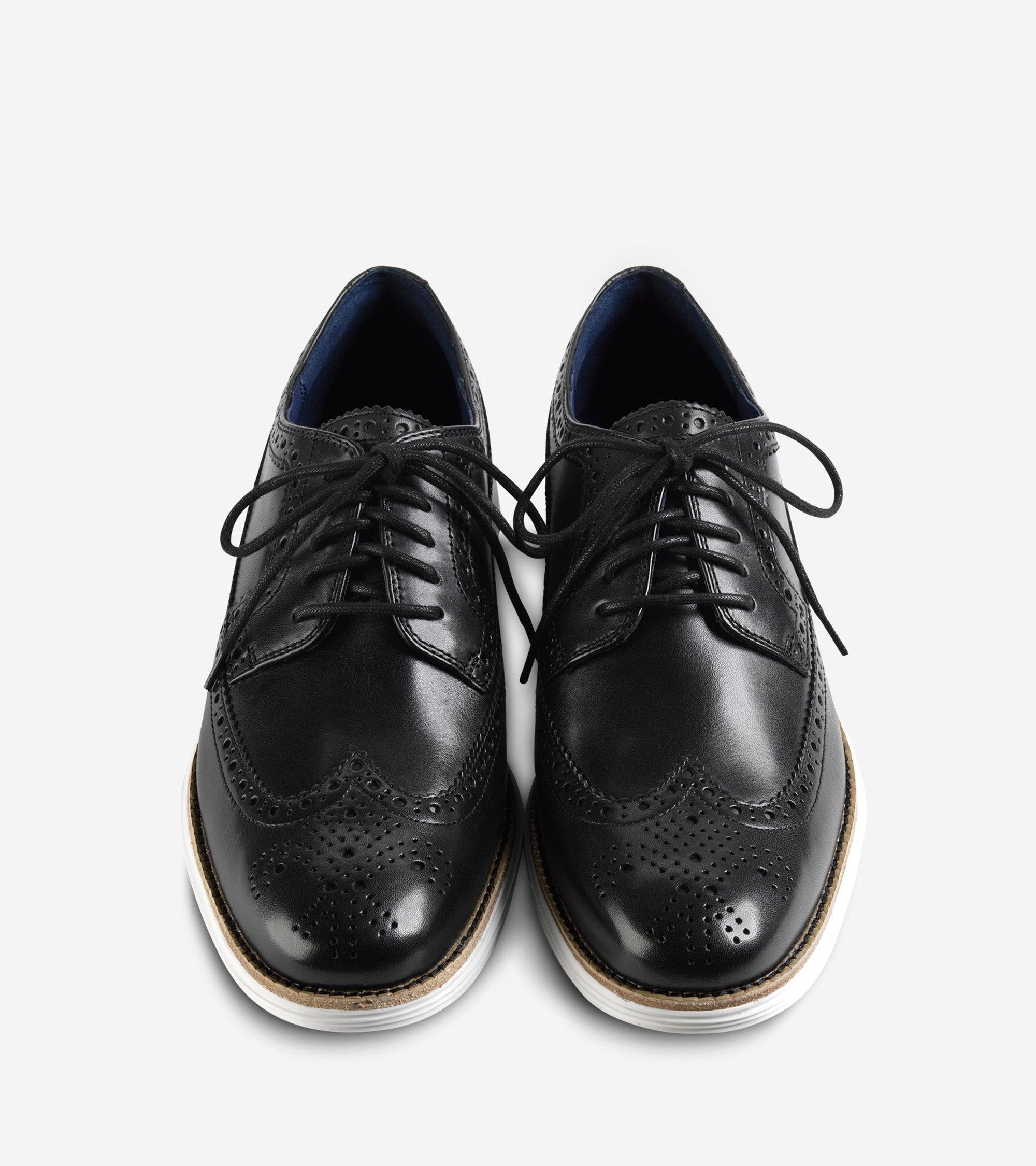 Black Wingtip Shoes Cole Haan