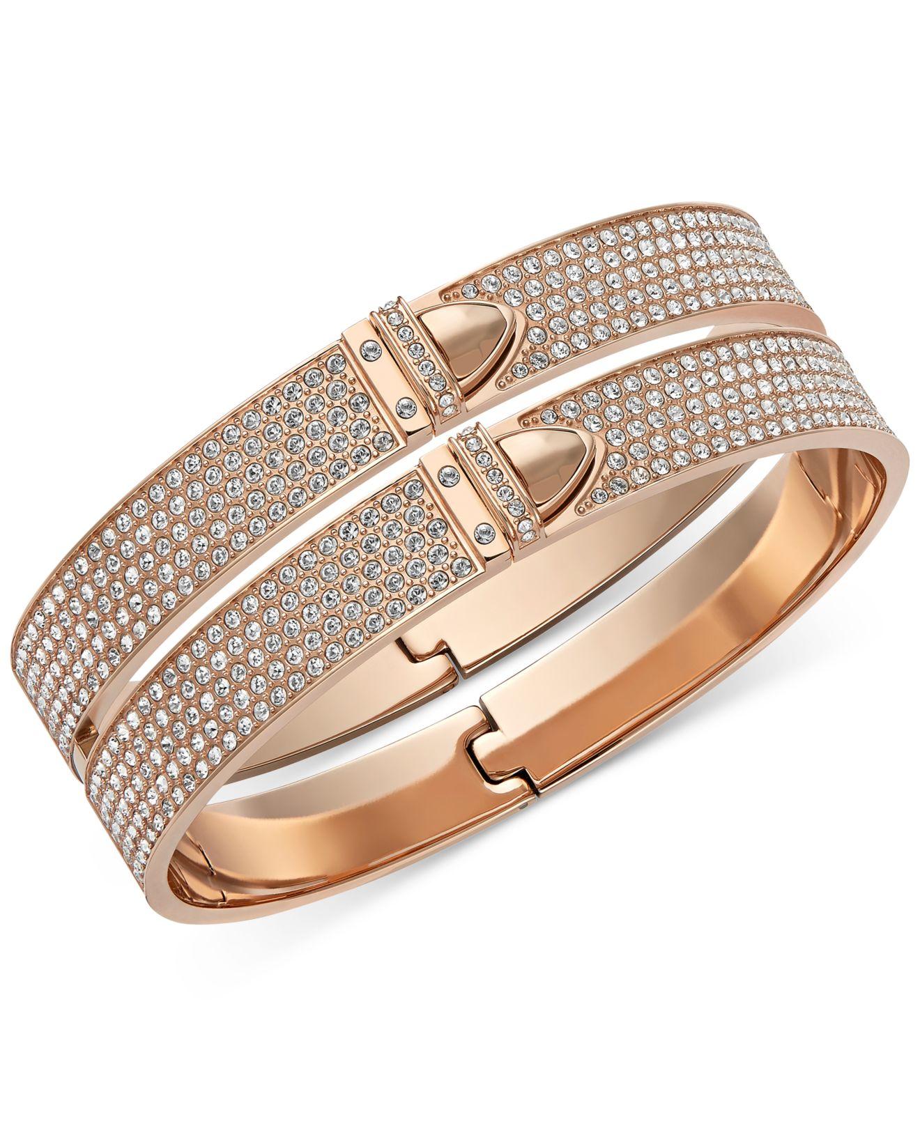 rose gold bracelet swarovski images