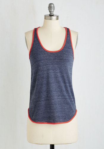 edeced3c8 Lyst - Alternative Apparel Yard Work And Play Top In Heather in Red