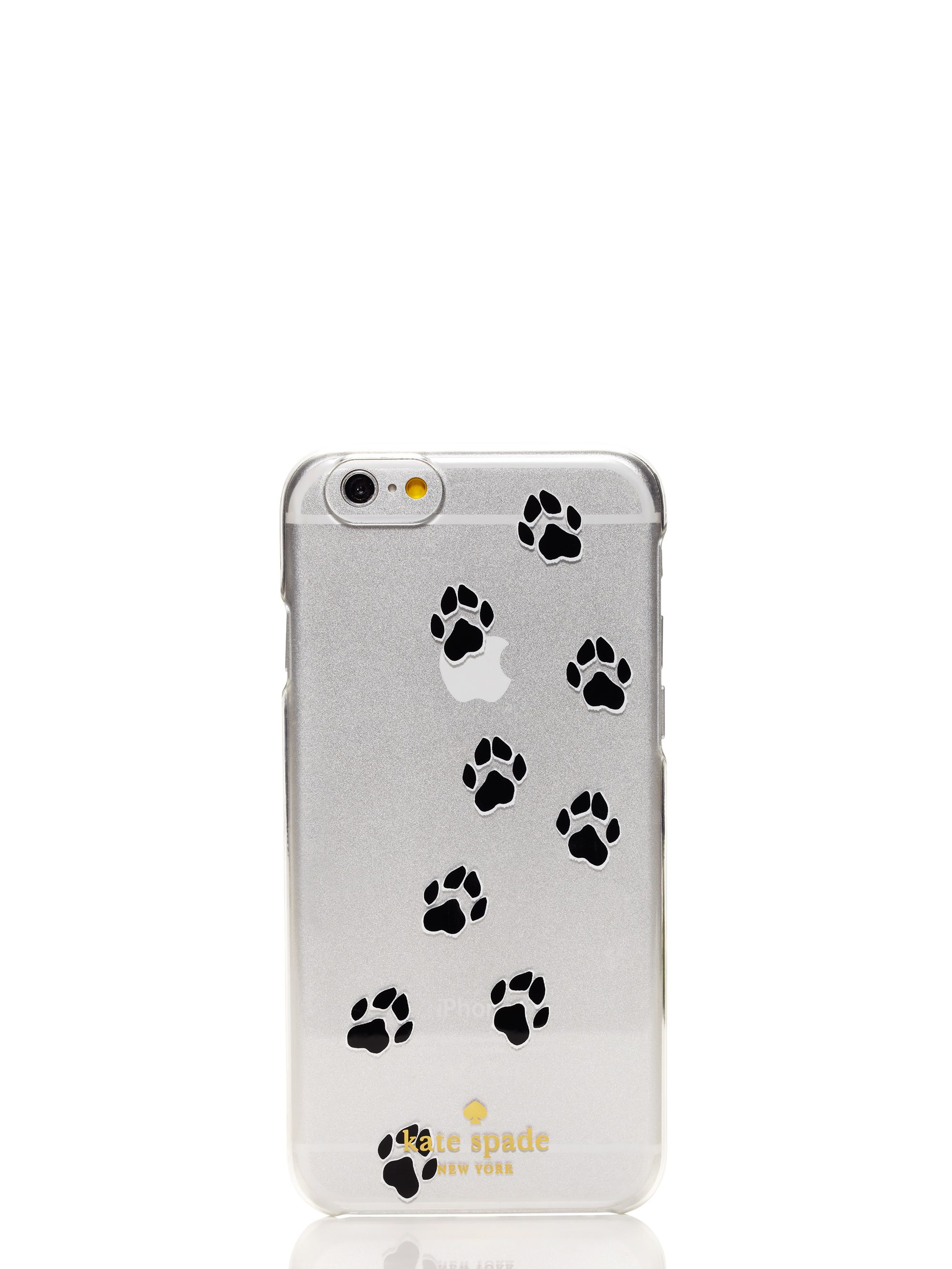 3ad0e5fb6f Kate Spade Paw Print Iphone 6 Case in White - Lyst
