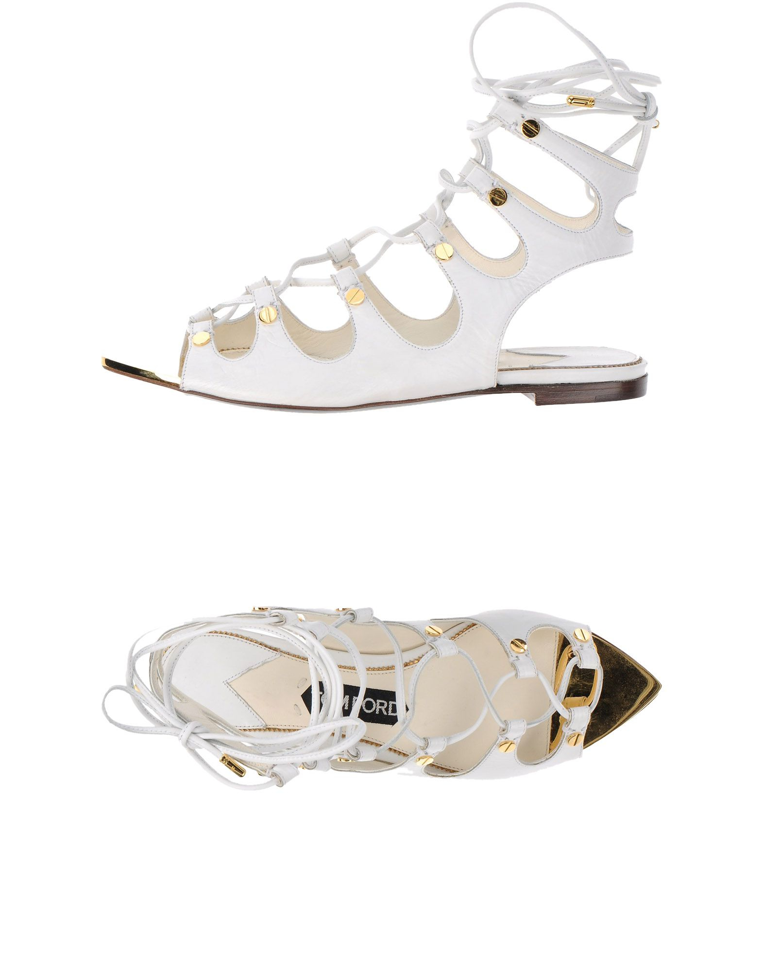 tom ford sandals in white lyst
