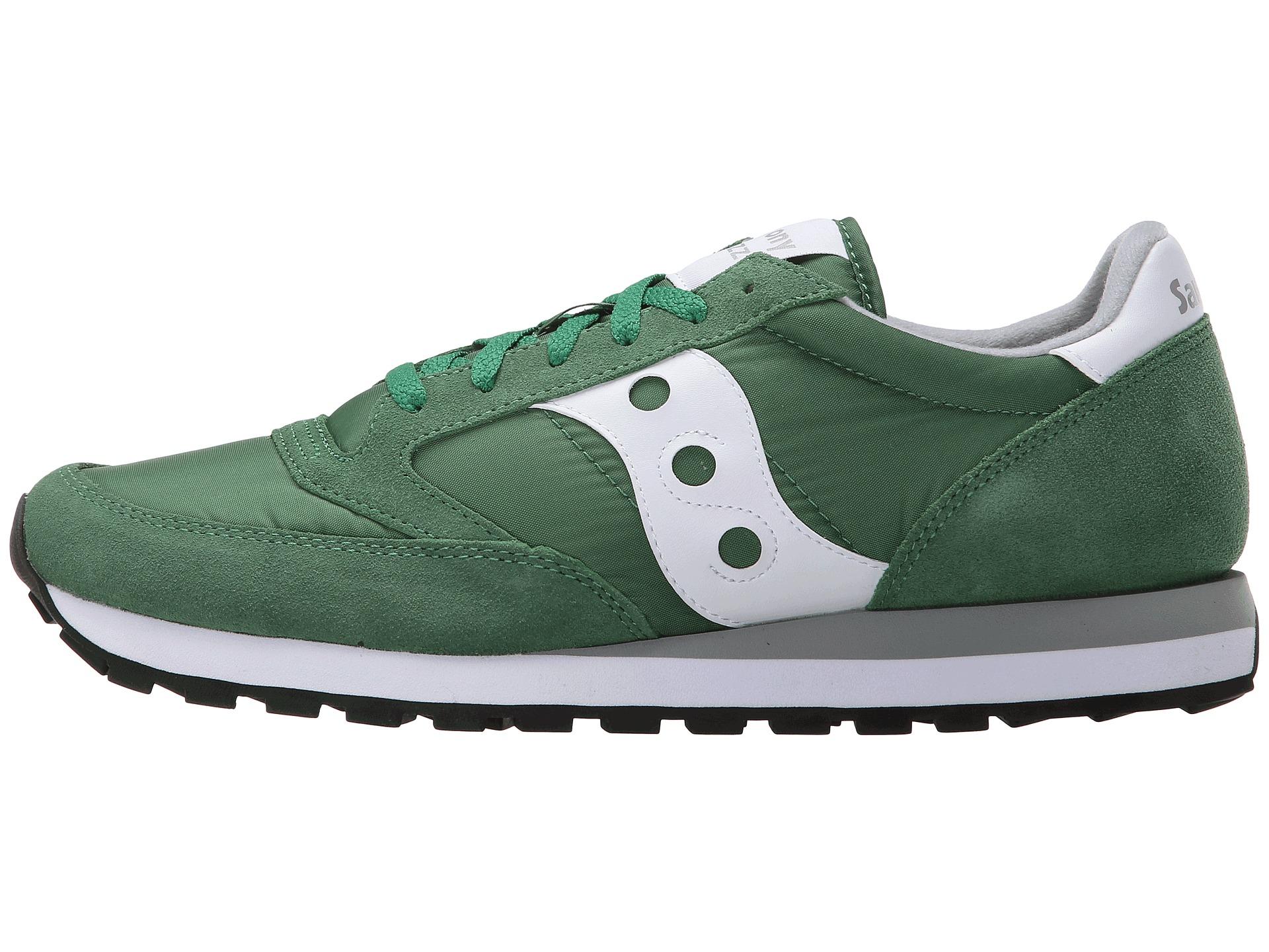 Saucony Originals Jazz Shoes Green Men