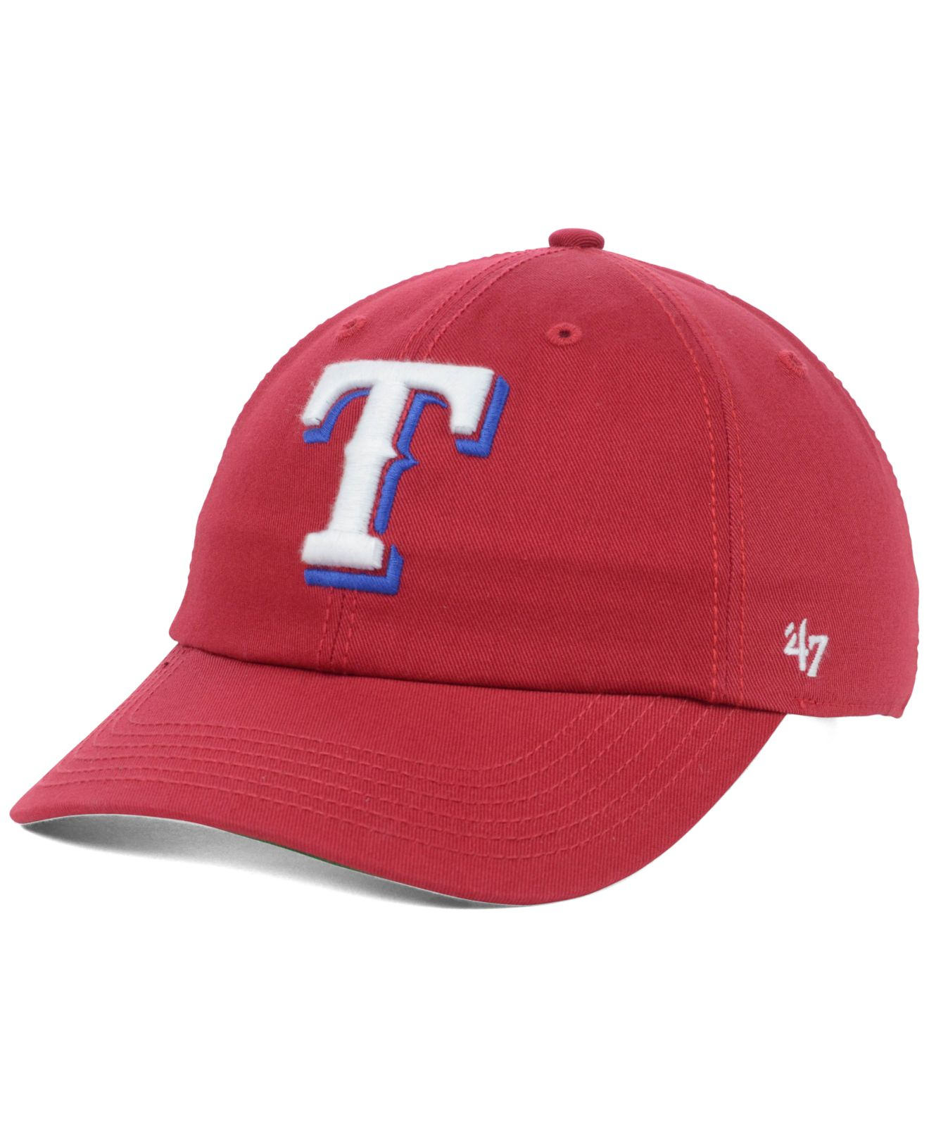9435c19532f4d amazon lyst 47 brand womens texas rangers cheever cap in red 1be73 35bfc