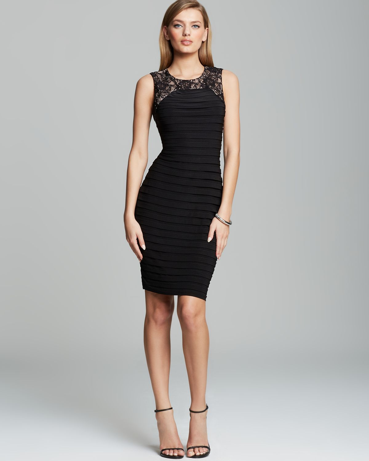 Adrianna Papell Black Dress