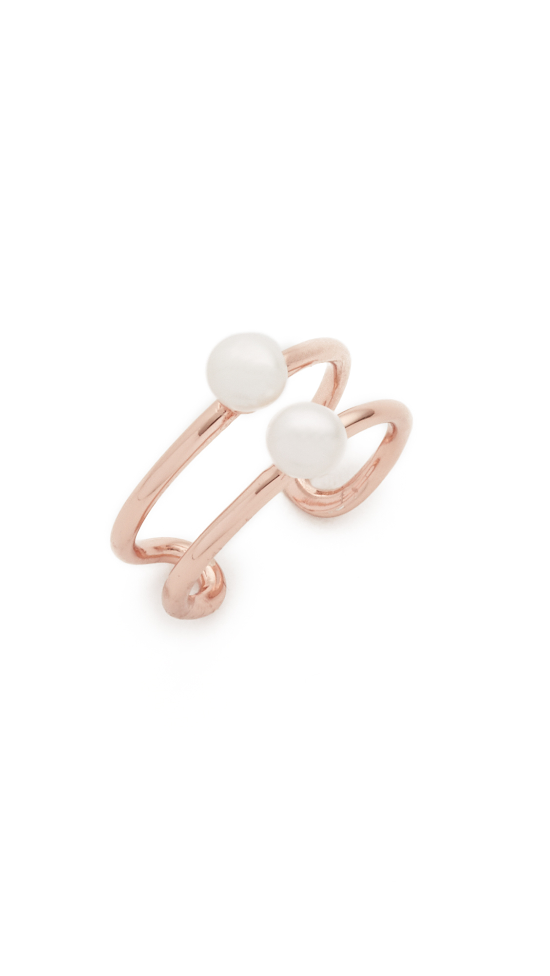 Samantha Wills Jasmine & Fleetwood Ring - Rose Gold/pearl in Pink