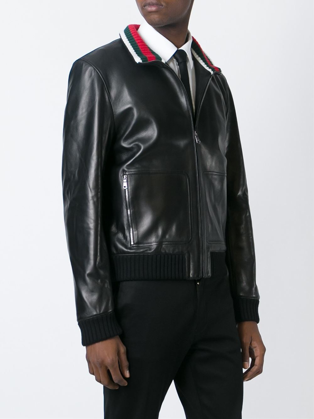 Gucci mens leather jackets