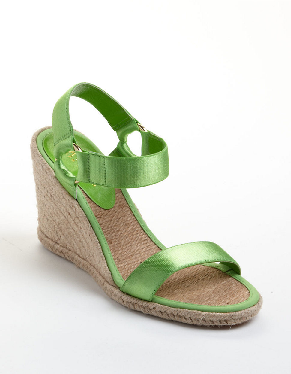 8cedf9bd2cd Lyst - Lauren By Ralph Lauren Indigo Banded Espadrille Wedge Sandals ...