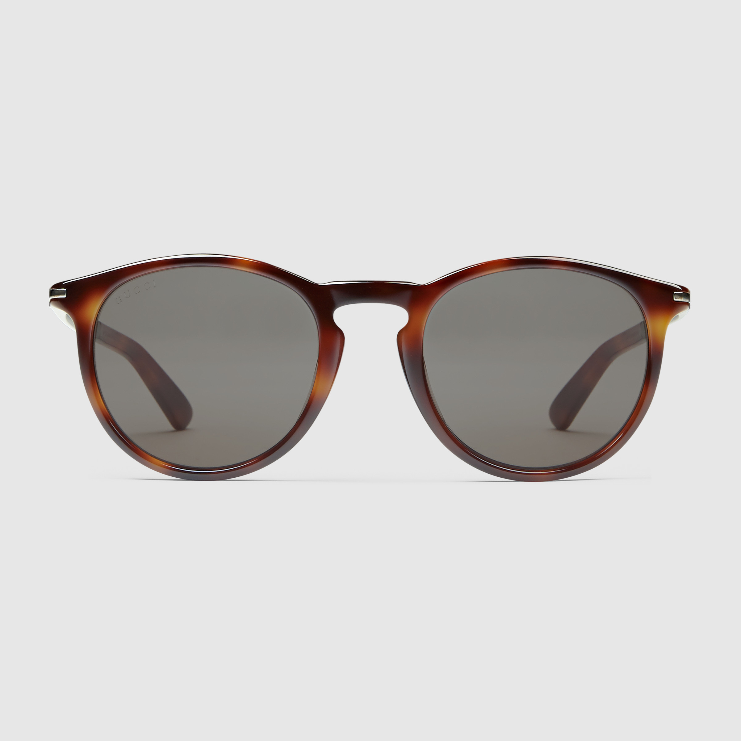 Gucci Metal Frame Glasses : Gucci Round-frame Acetate And Metal Sunglasses in Brown ...