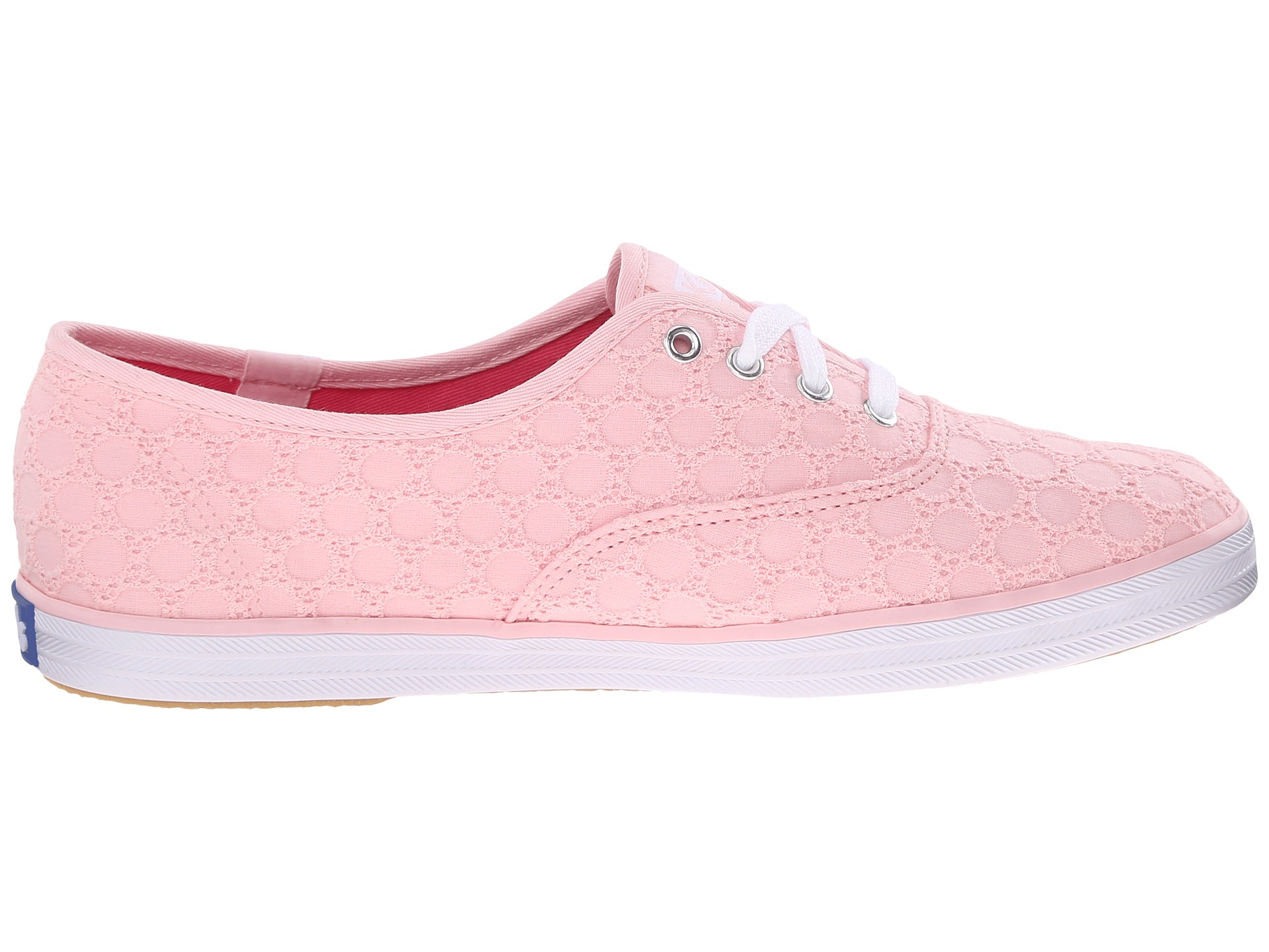 354b2667d2524 Lyst - Keds Champion Eyelet in Pink