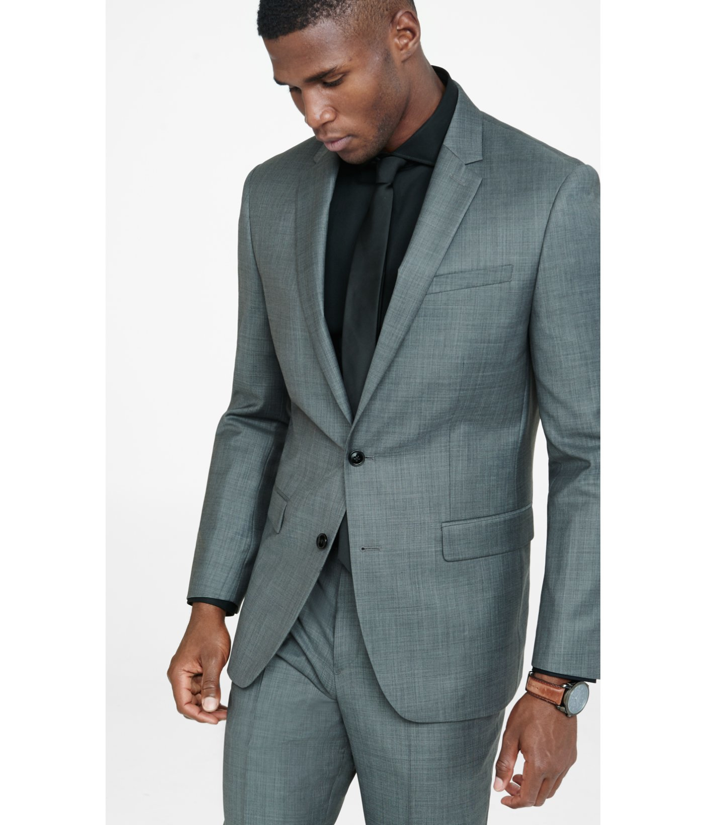 Dark Grey Suit Jacket - Most Popular Jacket 2017
