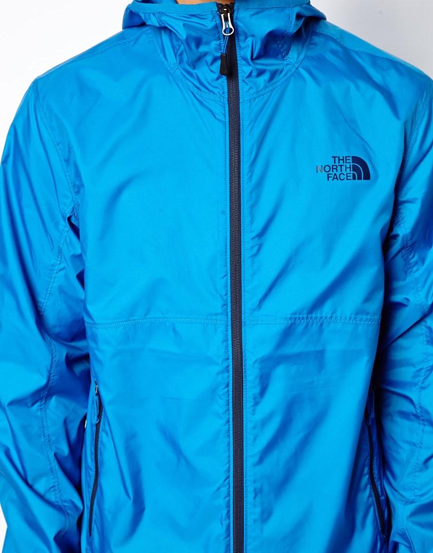 The North Face Green Flyweight Mens Windbreaker Jacket for men