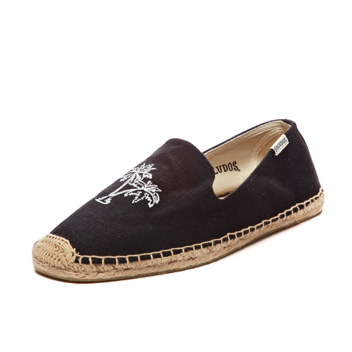 Leather Platform Smoking Slipper. Tradition, meet today. The classic espadrille gets taken up a few notches with a