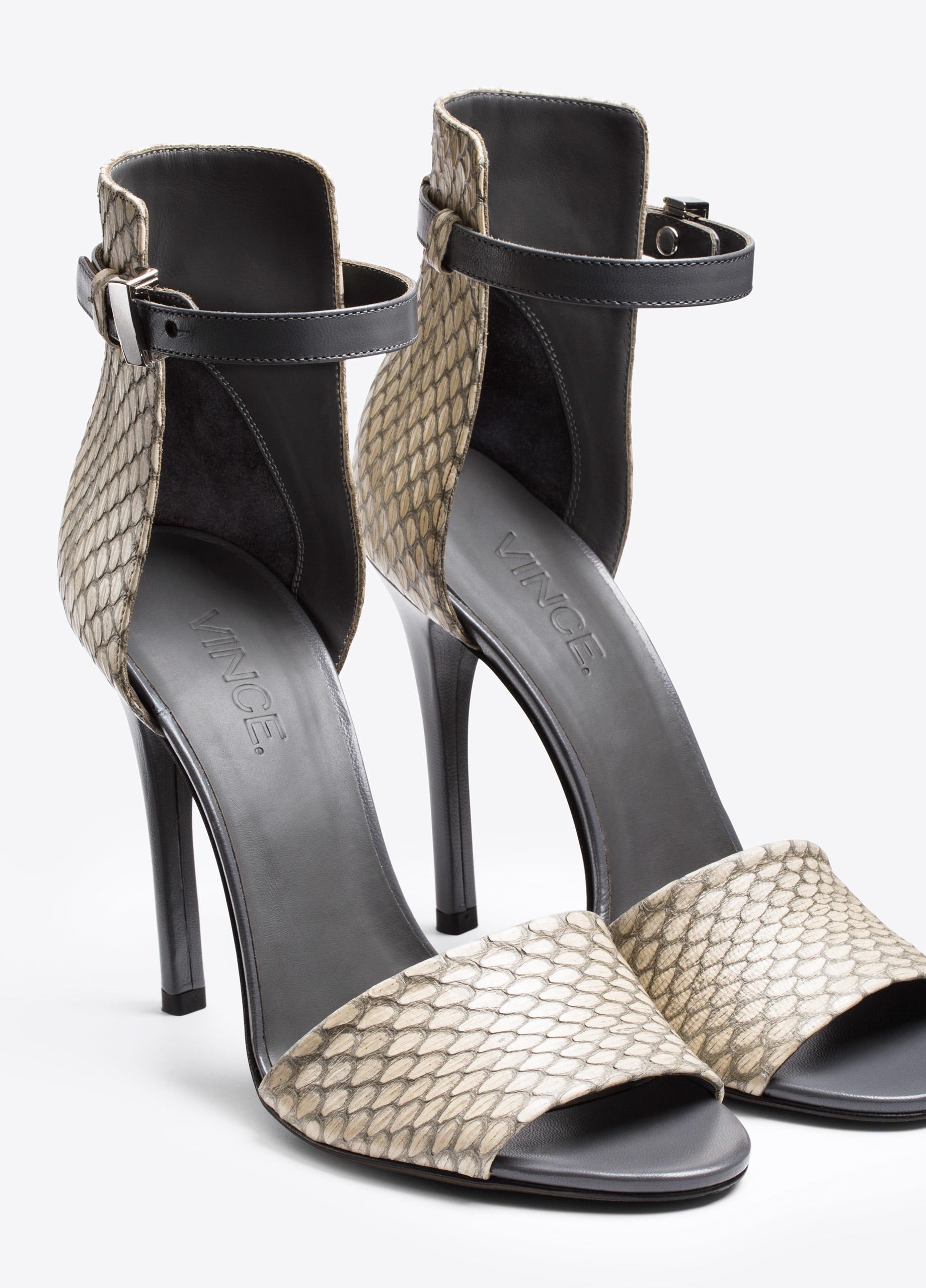 Sarah Jessica Parker and Metallic Stilettos of Balenciaga