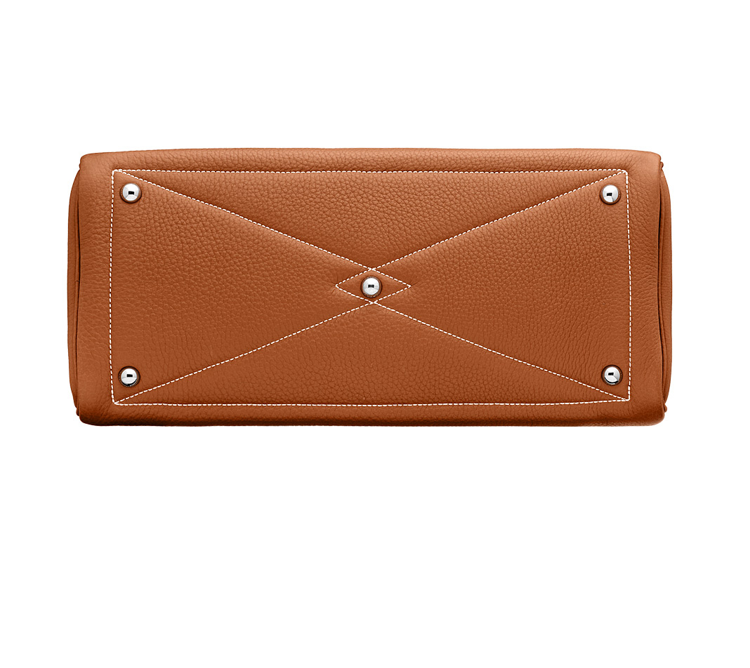 hermes Bolide extra large lacquer red