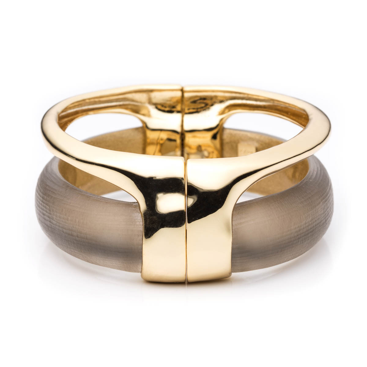 Alexis bittar Gold Stacked Hinged Bracelet You Might Also ...