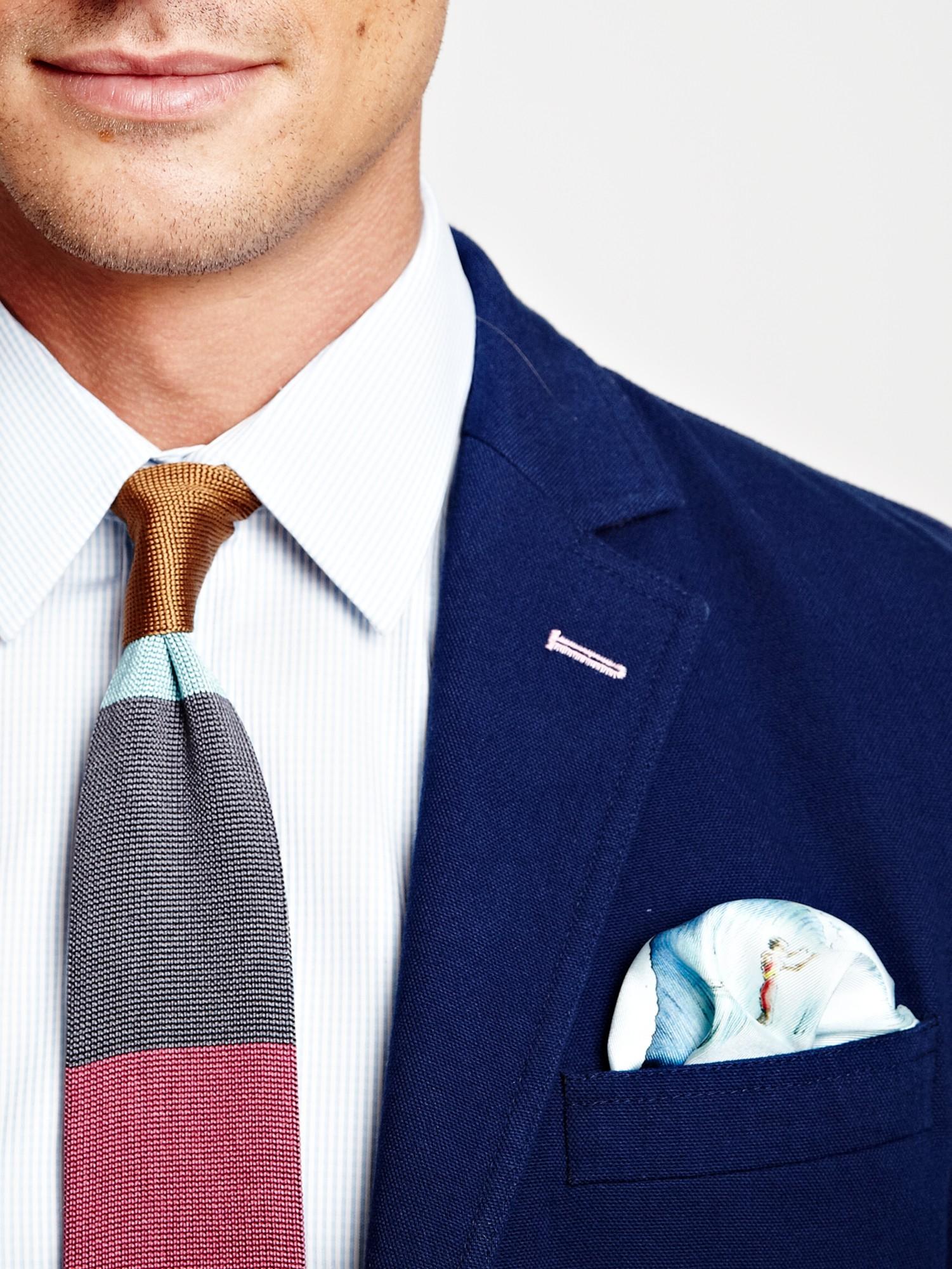 Thomas Pink Blomqvist Jacket in Navy (Blue) for Men