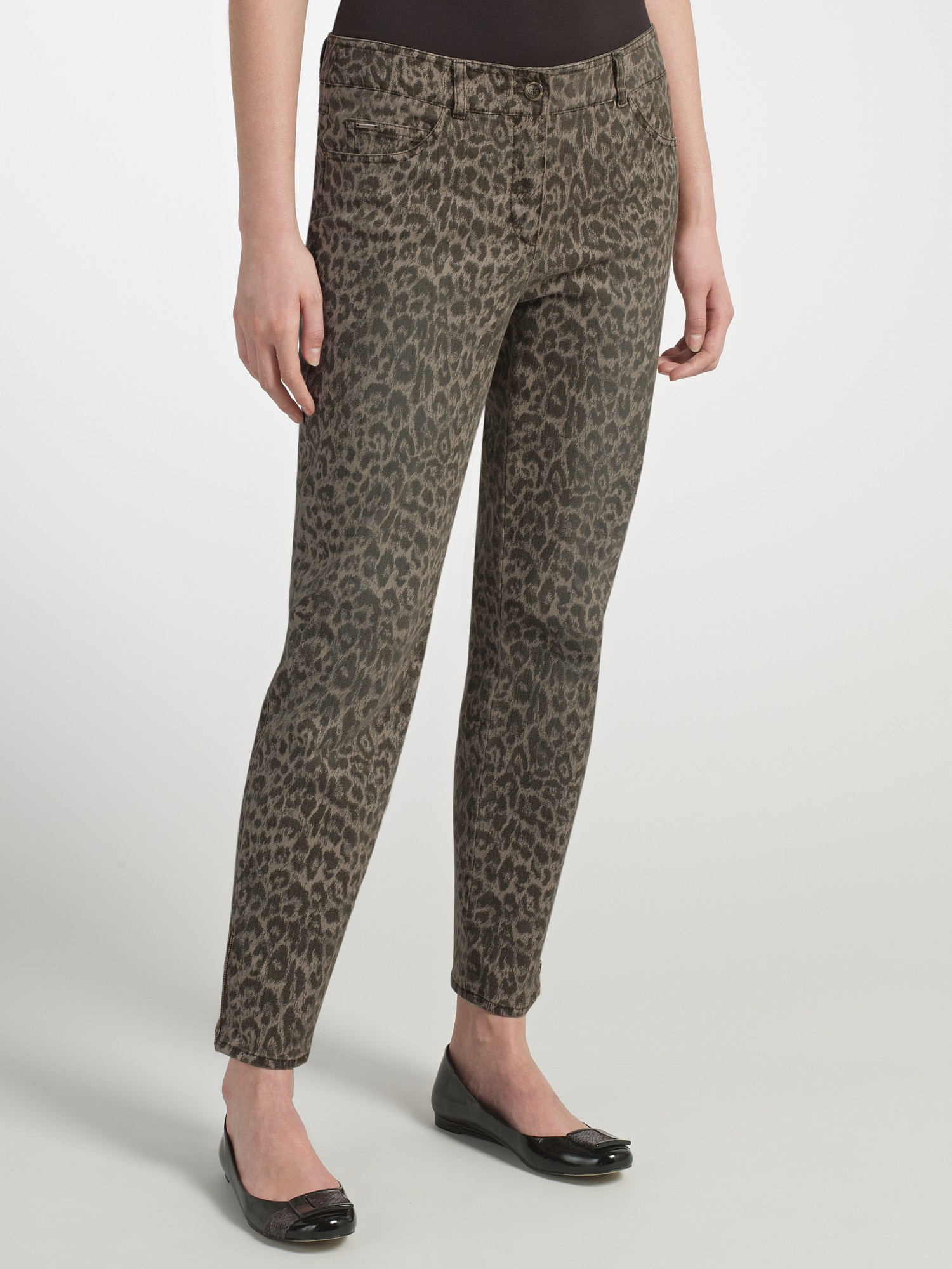 Gerry Weber Animal Print 7/8 Jeans