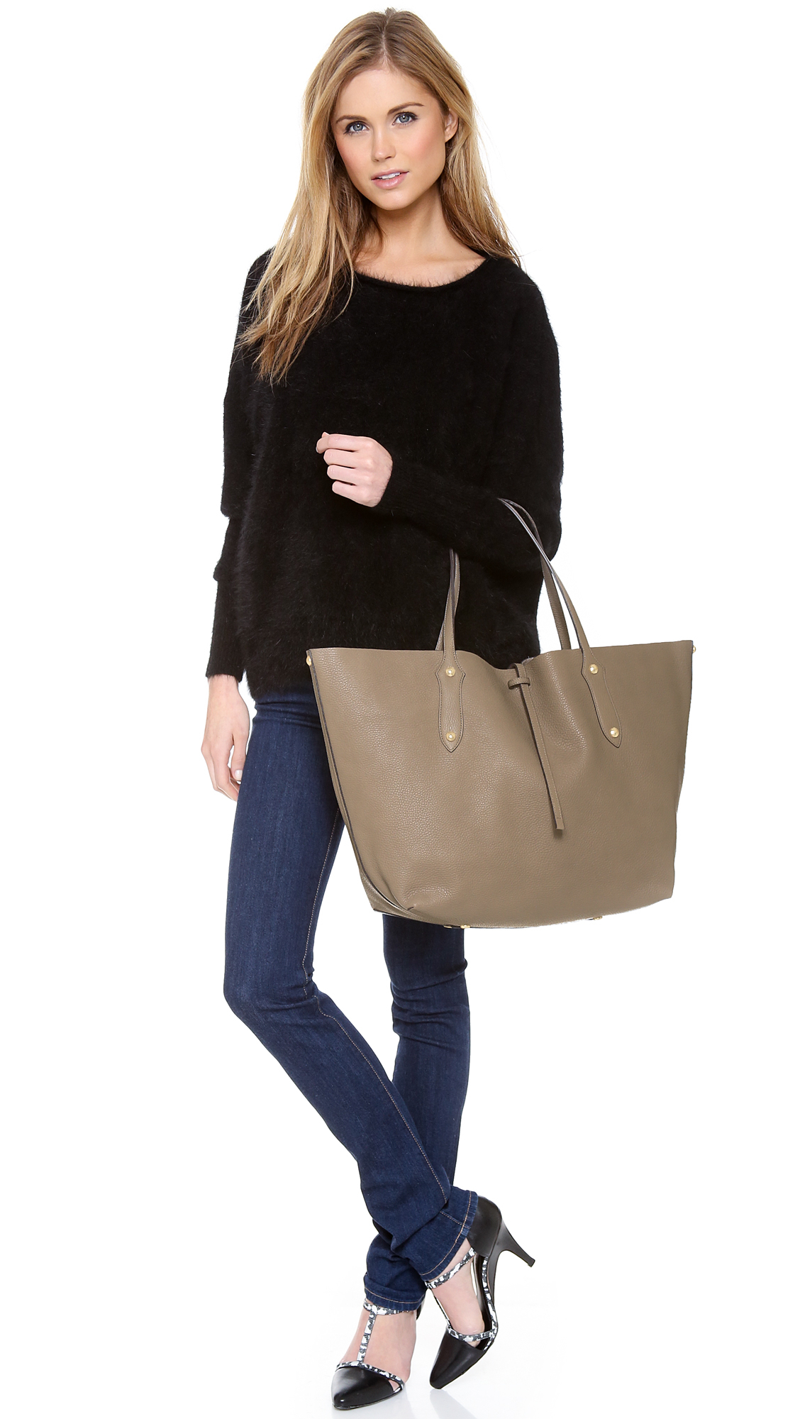Annabel Ingall Large Isabella Tote in Gray - Lyst 1618ba30af66e