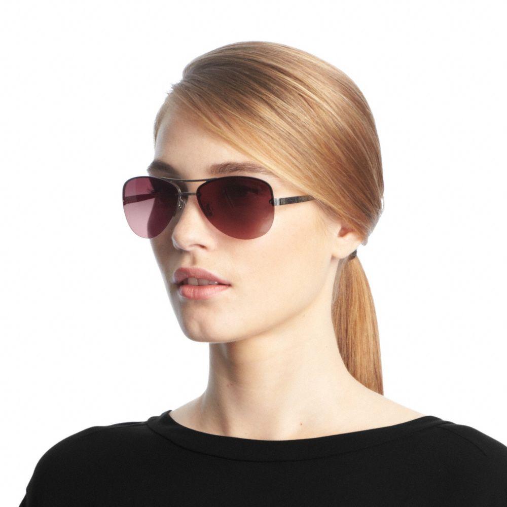 a710a9069d ... discount code for coach hc8117 sunglasses blakely coach. lyst coach  jasmine sunglasses in purple 28340