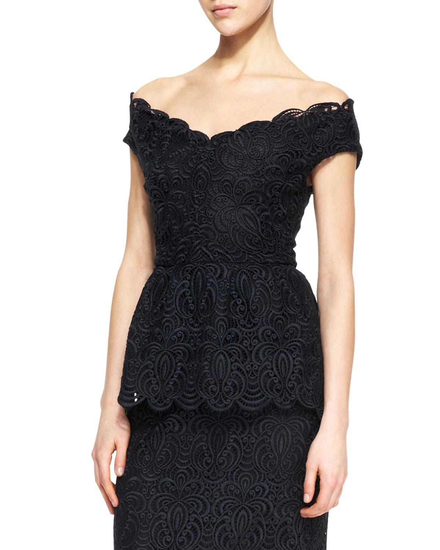 7a8c684239e0f V Neck Lace Top Other dresses dressesss