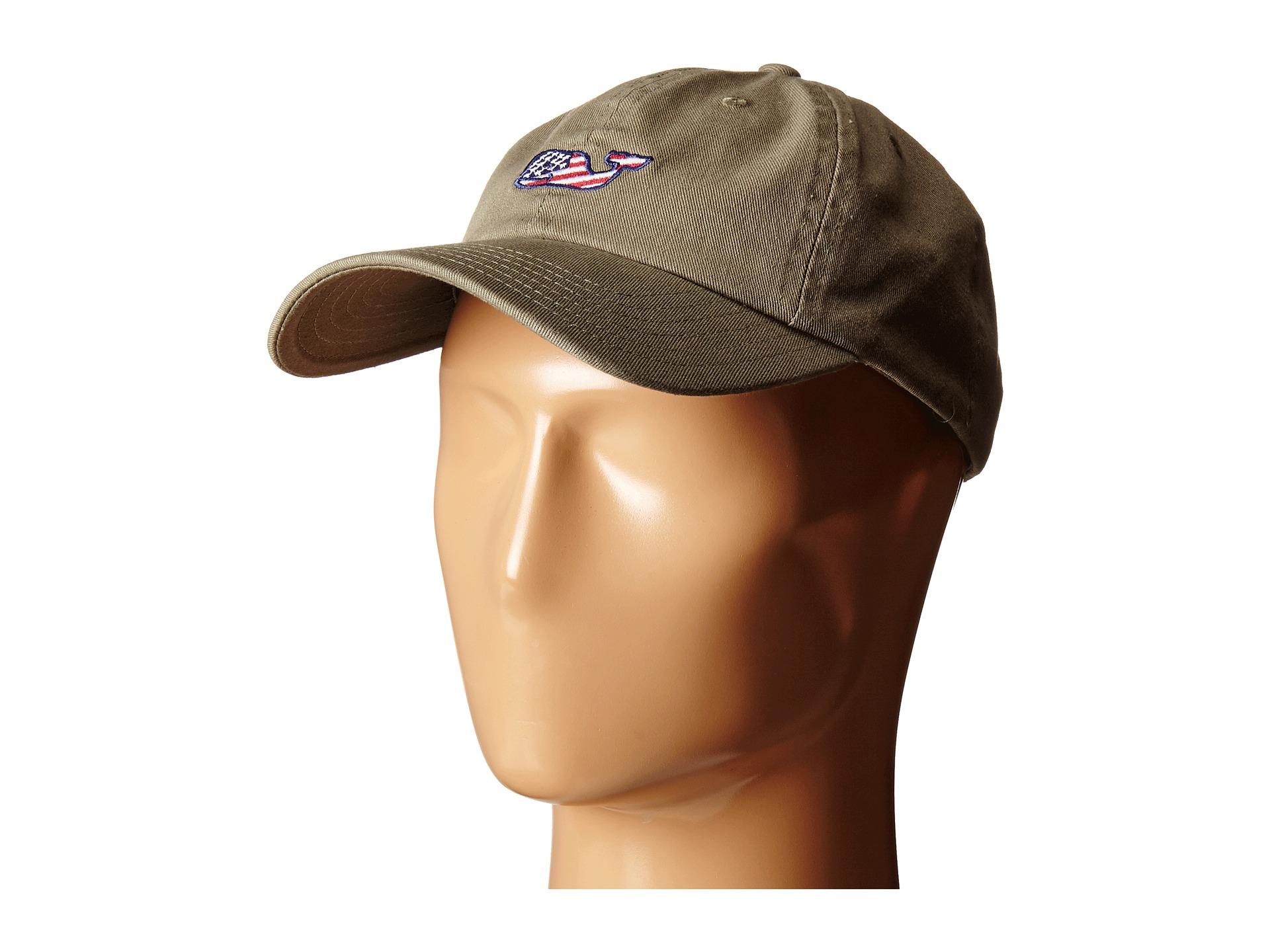 Lyst - Vineyard Vines Whale Flag Baseball Hat in Green for Men 6783f894cd3