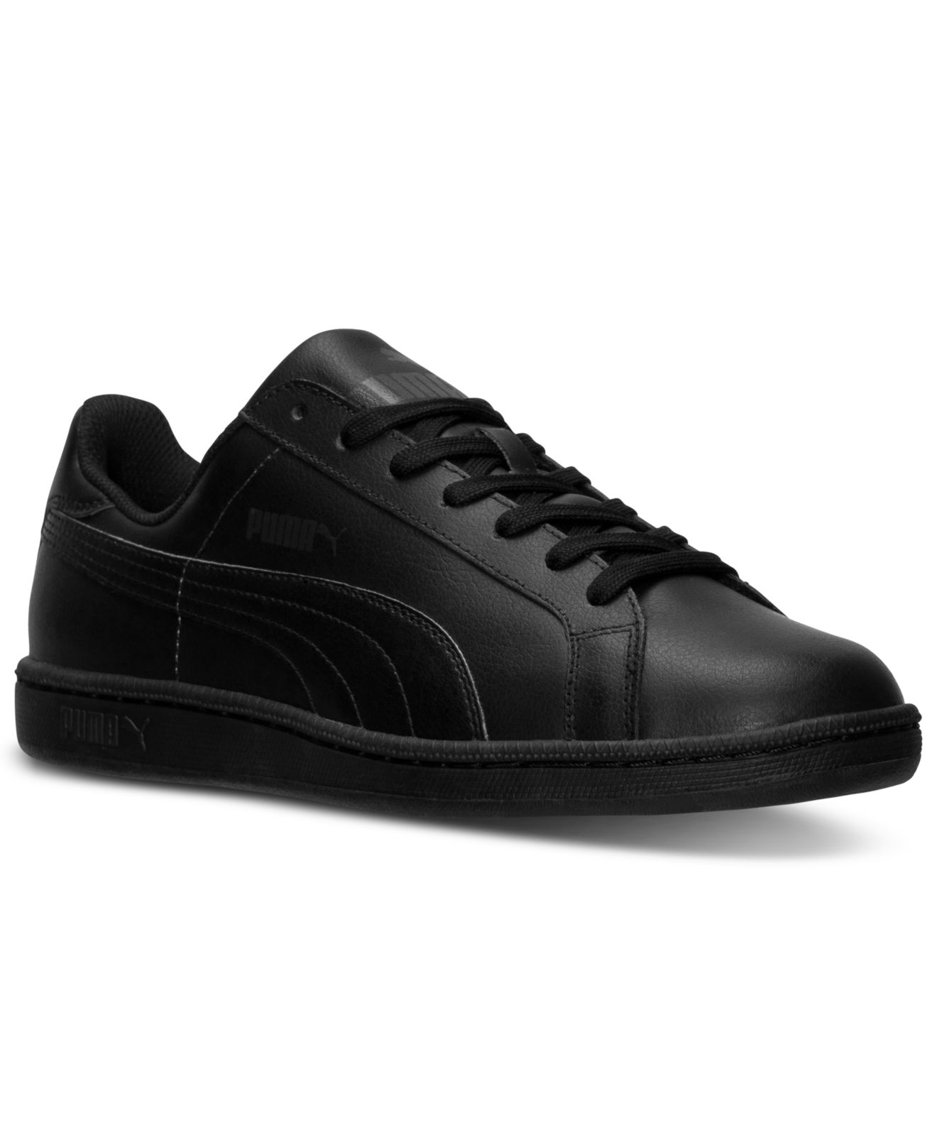 113d93a0a39e Lyst - PUMA Men S Smash Leather Casual Sneakers From Finish Line in ...