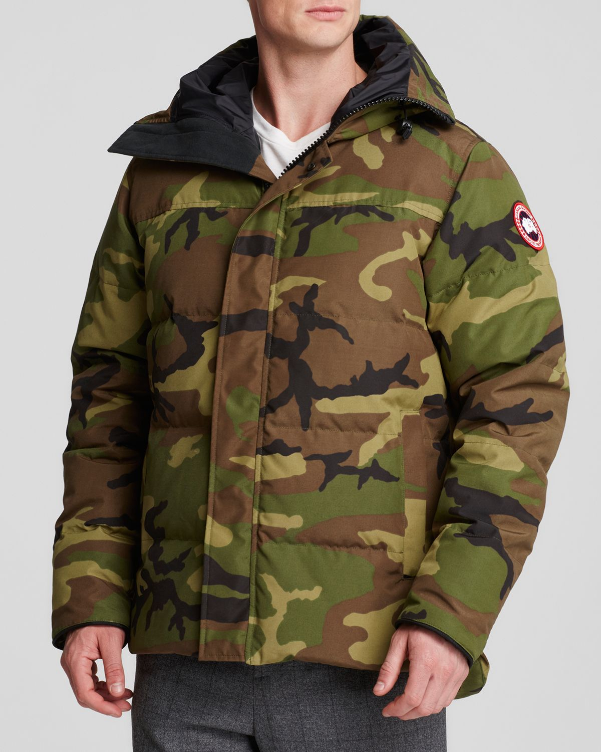 Canada Goose mens outlet discounts - Canada goose Macmillan Camouflage-Print Parka Jacket in Green for ...