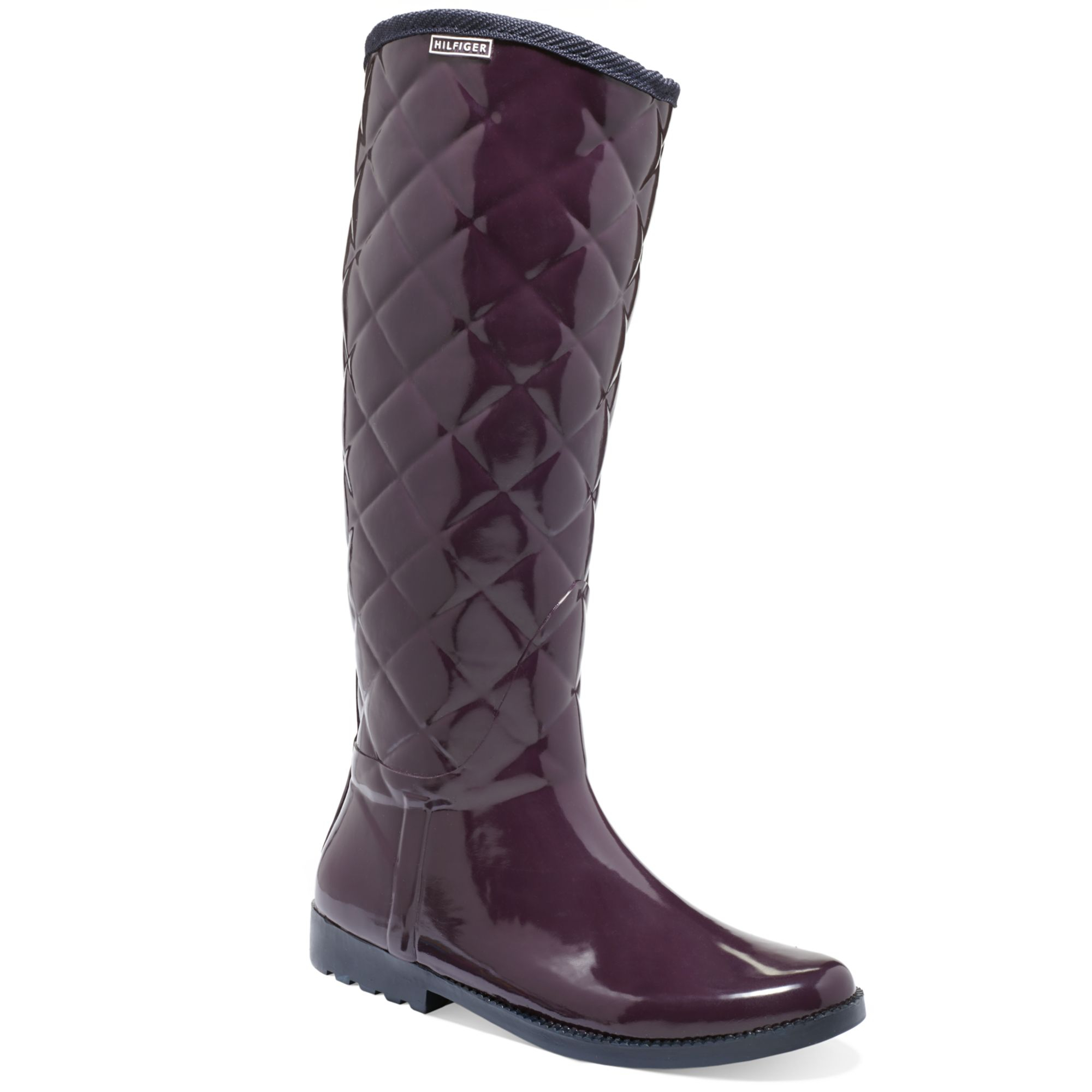 Beautiful Tommy Hilfiger Womens Deluge Rain Boot In EvergreenMulti