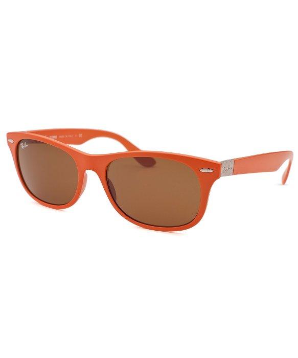 Ray-ban New Wayfarer Orange Sunglasses in Orange | Lyst